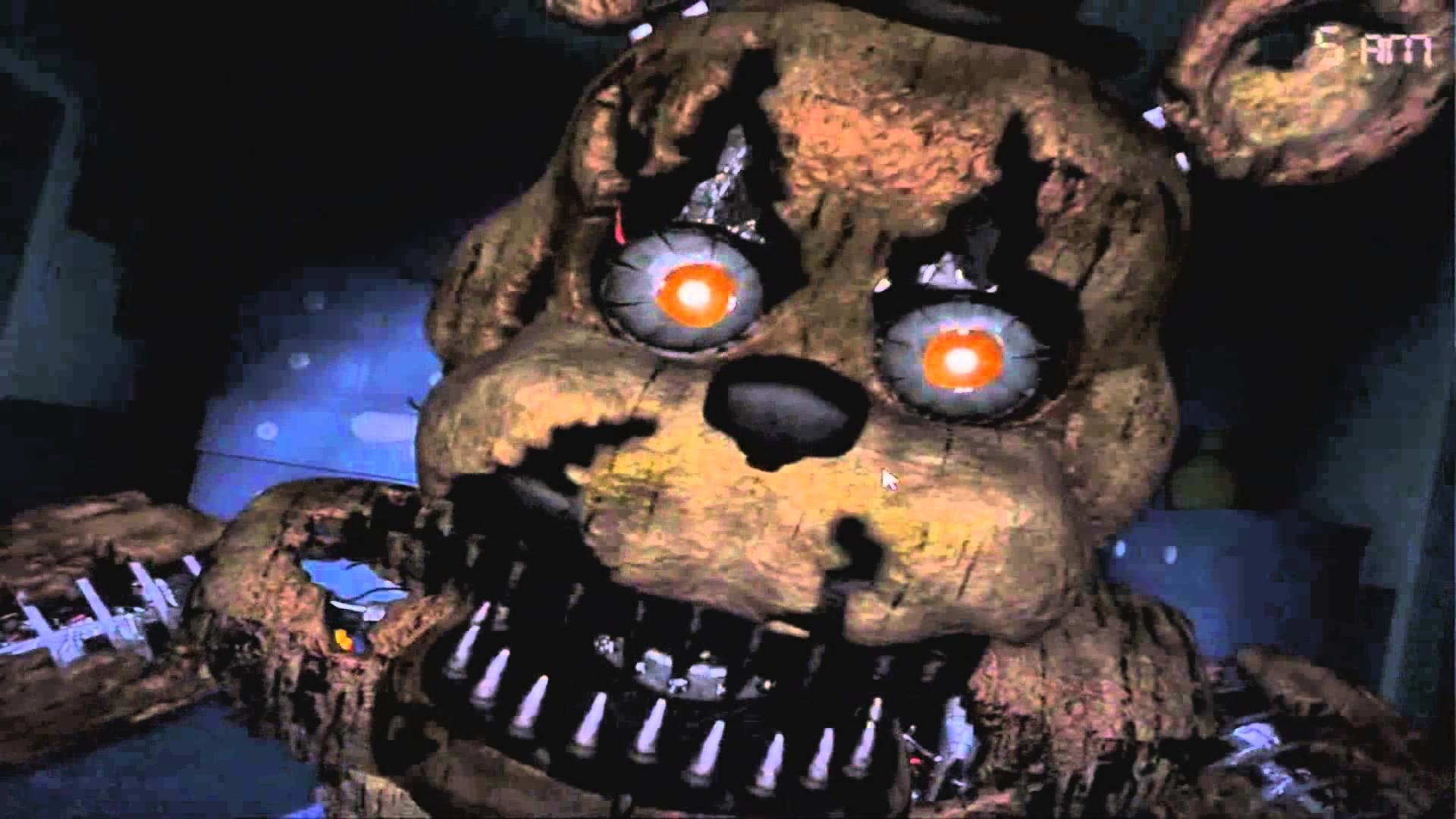 Five Nights At Freddy's 4 All Jumpscares (FNAF 4 ALL JUMPSCARES)