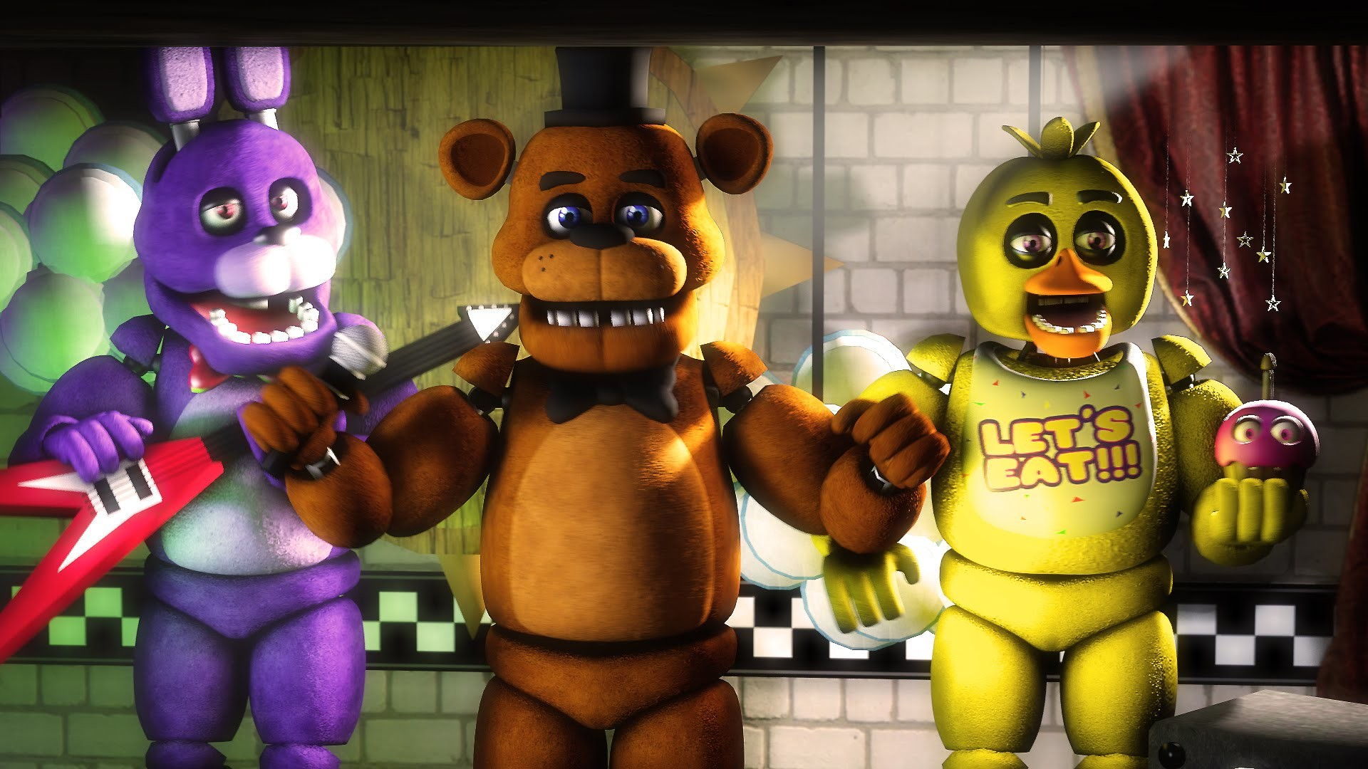 """[FNAF SFM] """"Old Times"""" (Five Nights at Freddy's 1 Animation) – YouTube"""