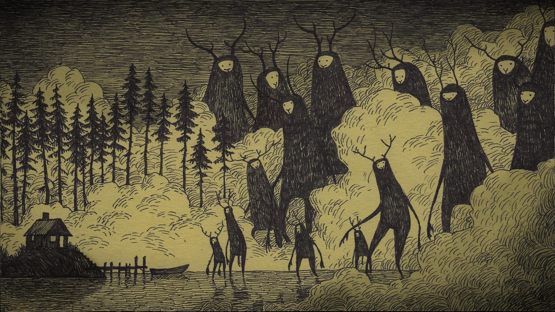 HD Wallpaper   Background ID:630831. Dark Creepy