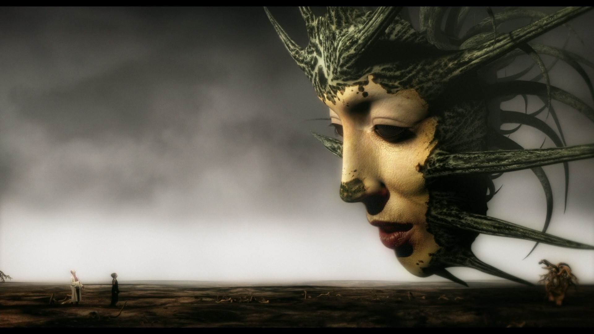Mirrormask Movies Fantasy Face Eyes Mask Dark Monster Demon Creepy HD