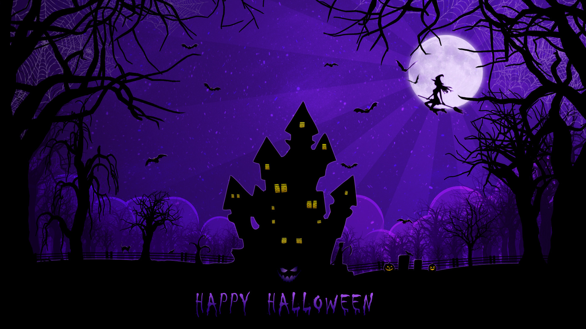 Happy Spooky Halloween. Available in 1920×1080.