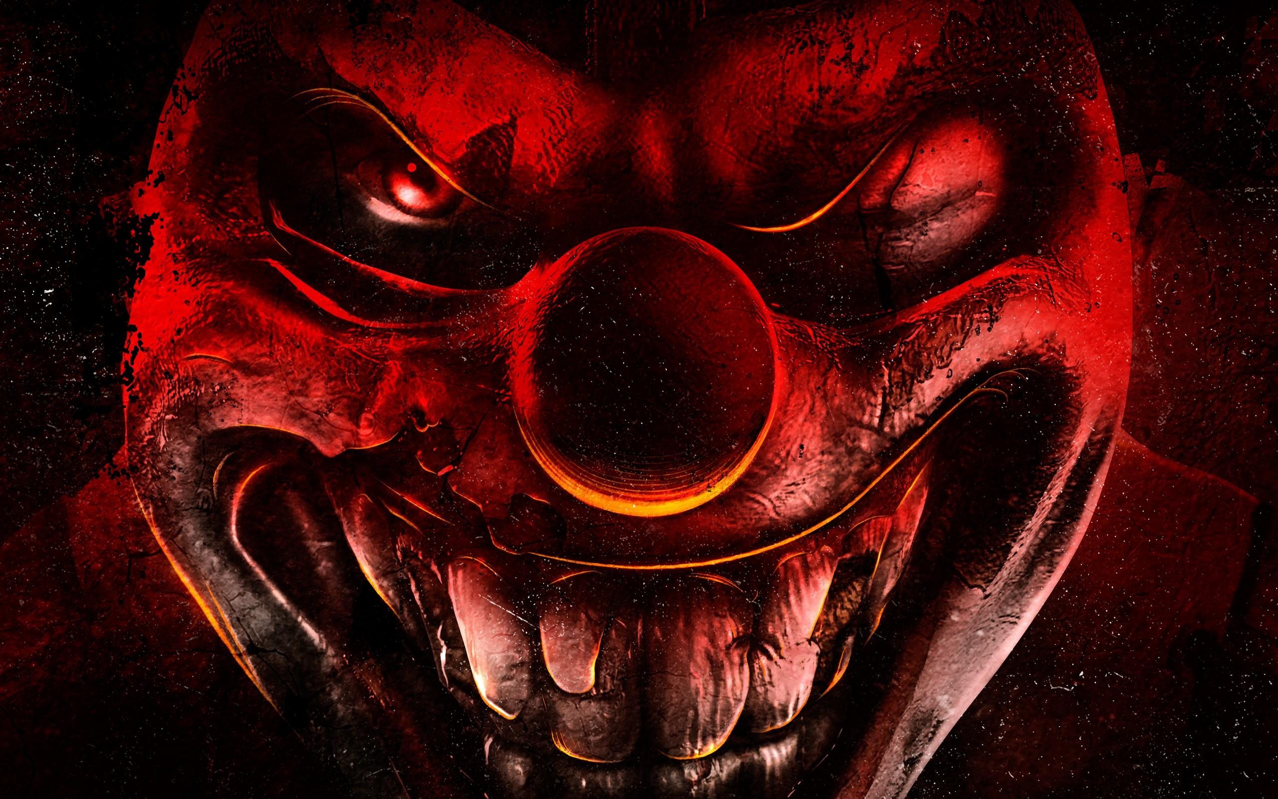 Scary Clown Happy Halloween 13 Source · Scary Clown HD Wallpaper  WallpaperSafari