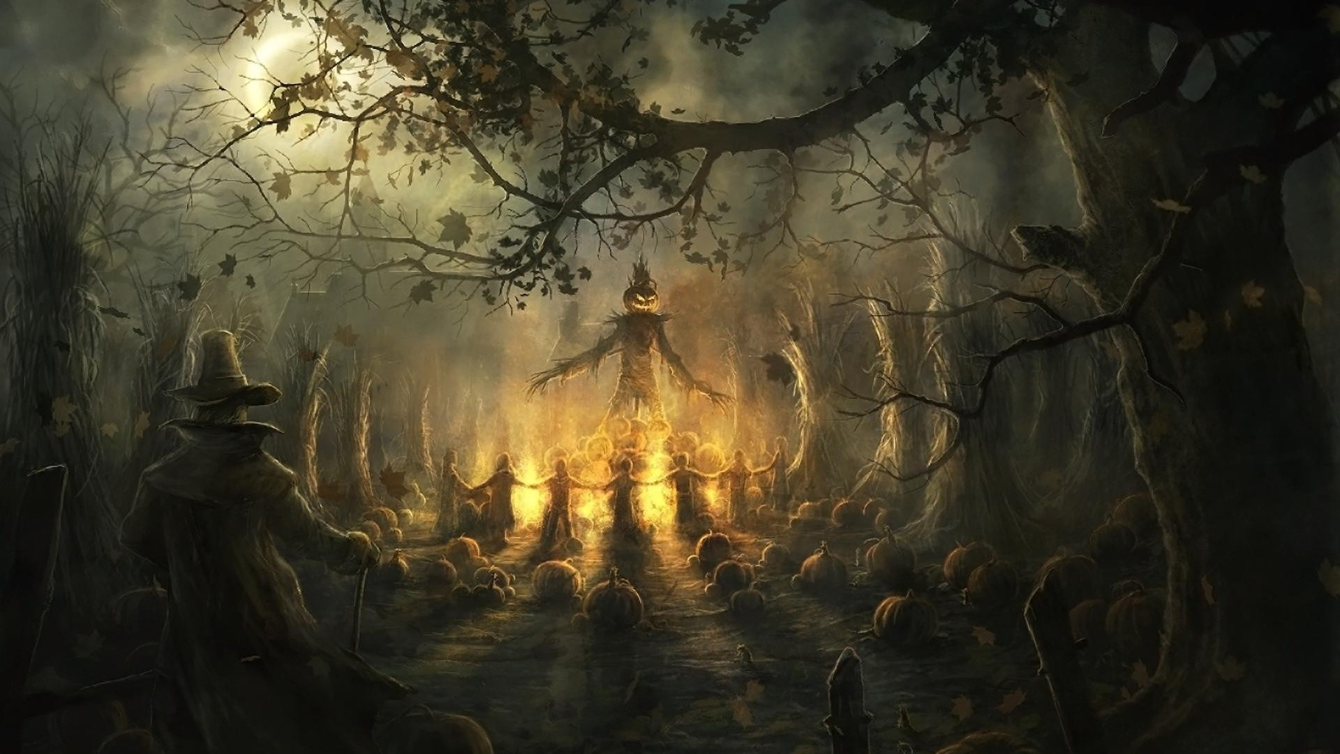 18 HD Scary Halloween Desktop Wallpapers For Free Download