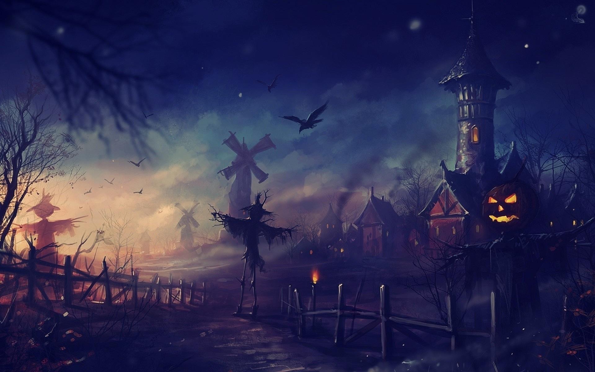 Halloween wallpaper HD desktop