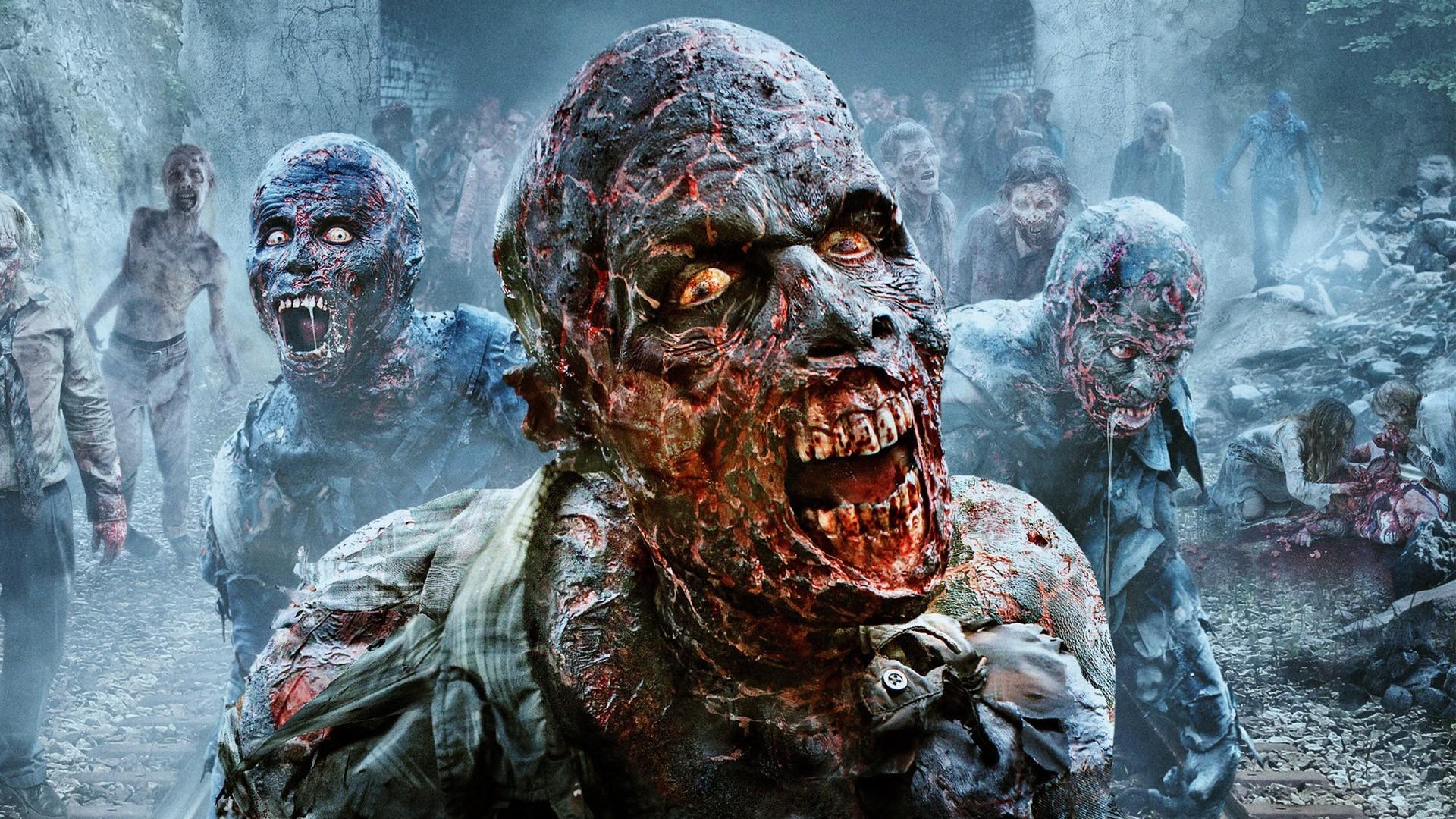 scary zombies the walking dead season