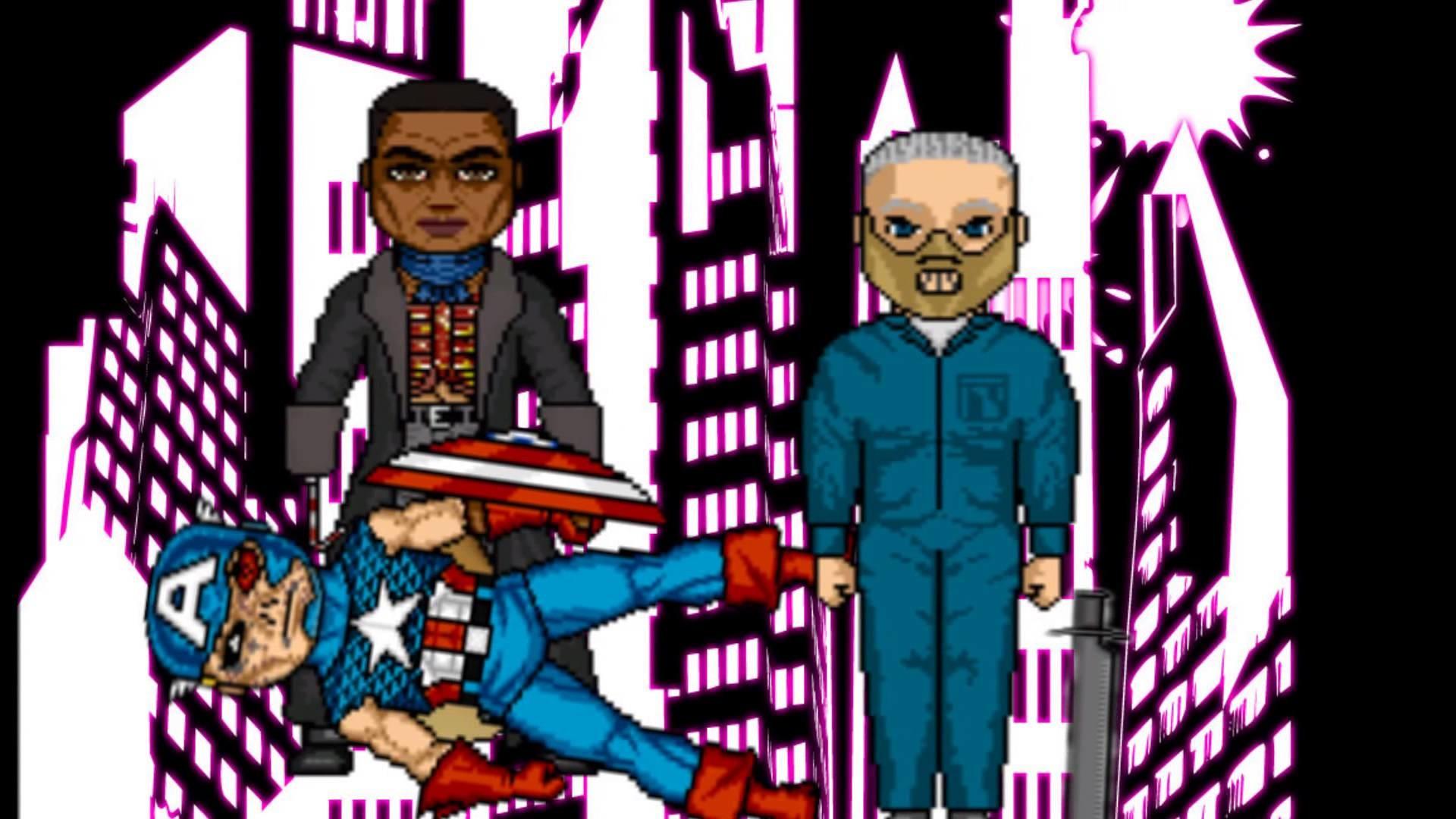 comic book superheroes vs horror movie icons