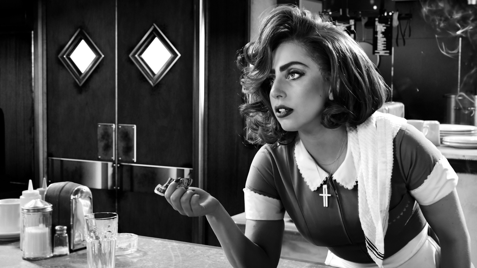 … American Horror Story: Hotel. Lady-Gaga-in-Sin-City-A-Dame-to-