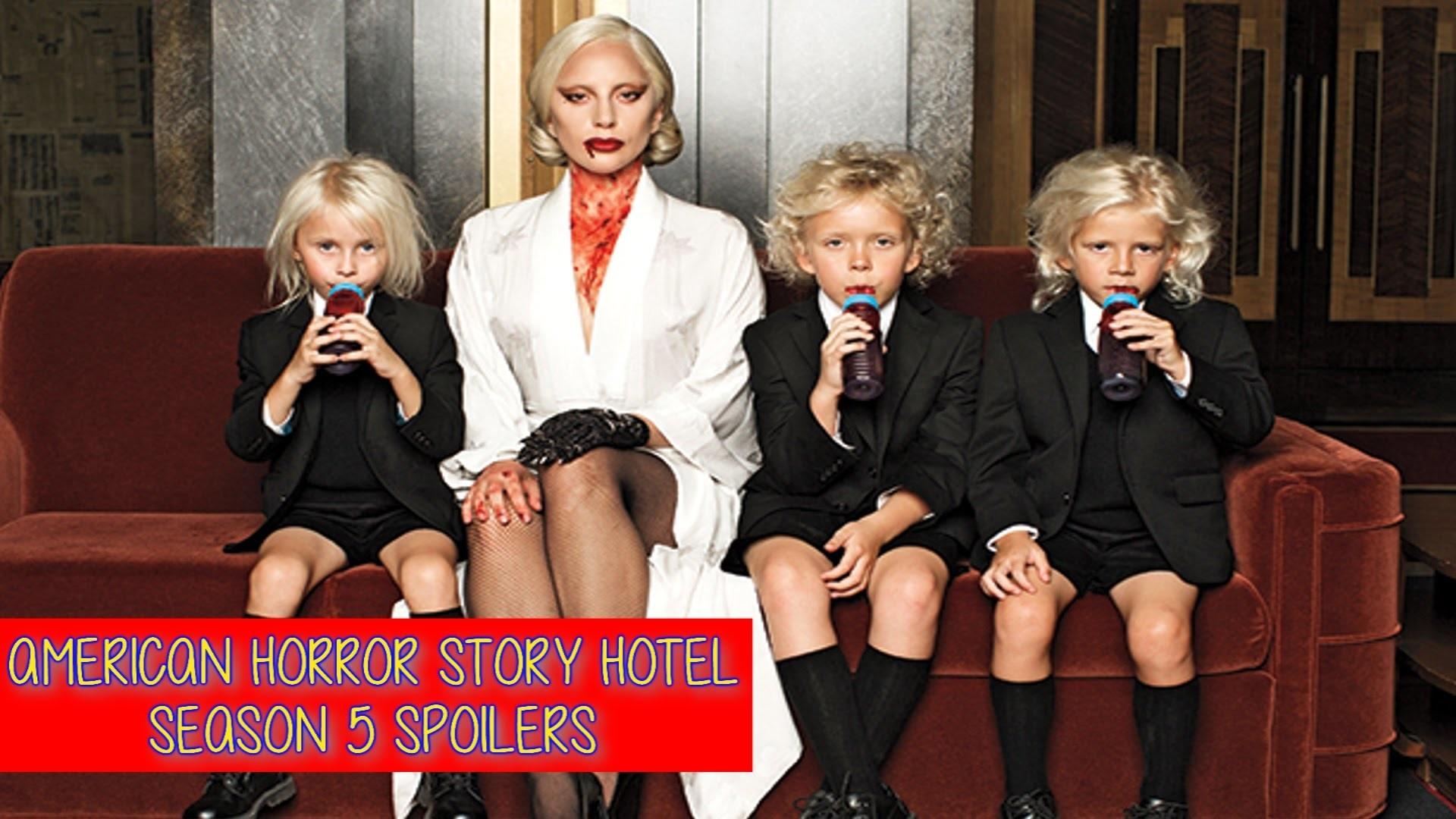 American Horror Story Hotel – Season 5 Characters Descriptions & Photos HD