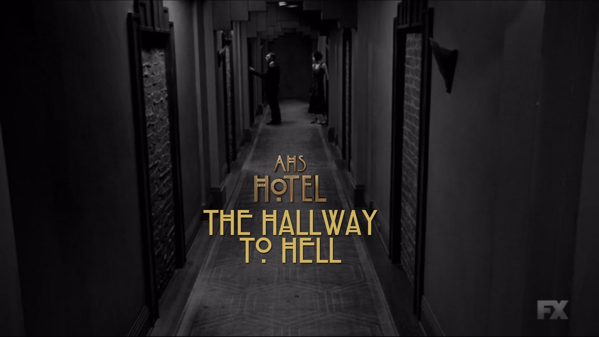 American Horror Story Hotel 'The Hallway To Hell'