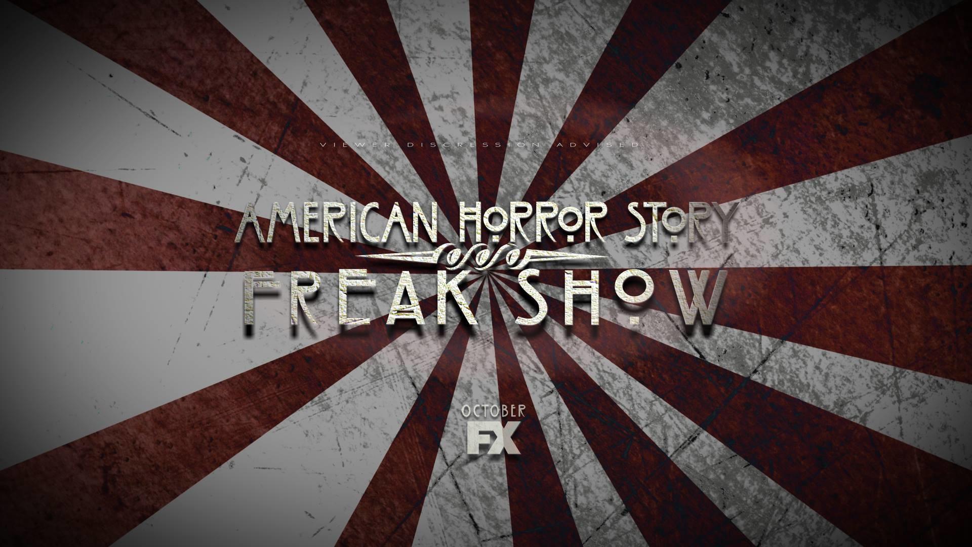 American Horror Story Freak Show Title Card