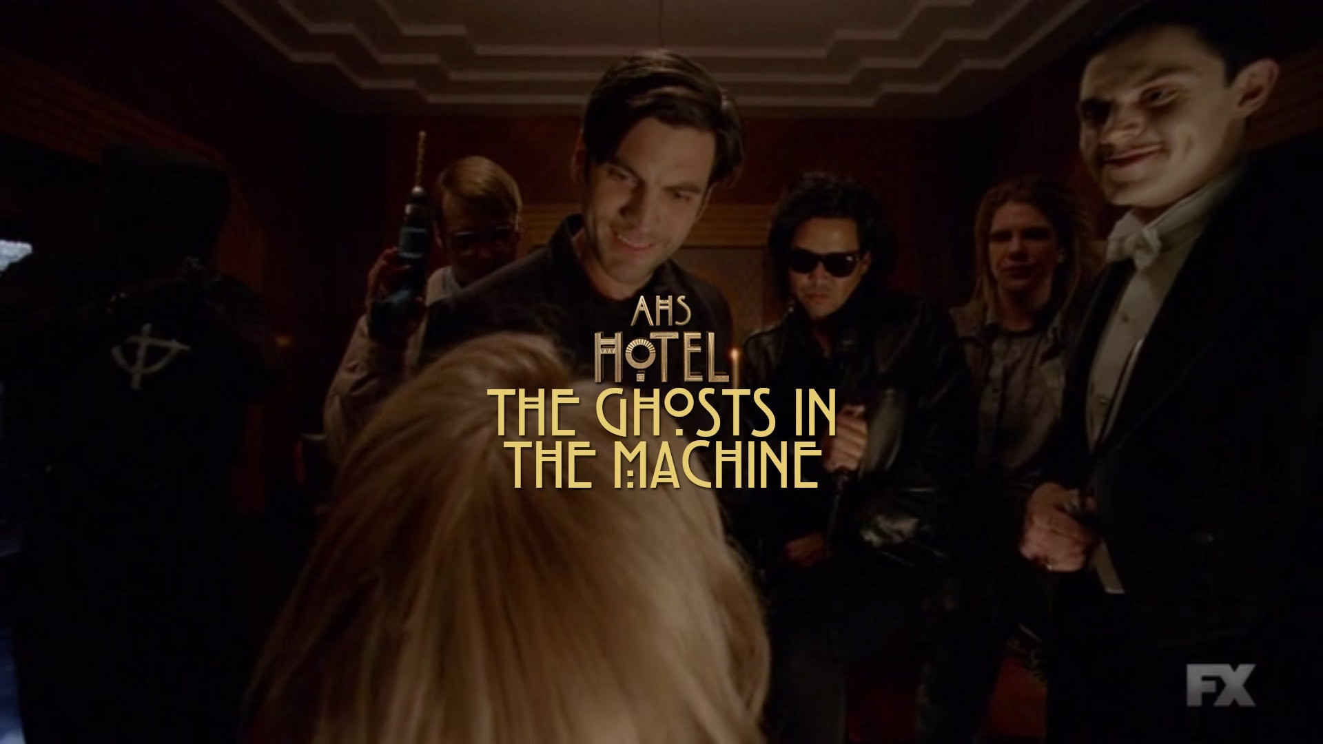 American Horror Story Hotel 'The Ghosts In The Machine'
