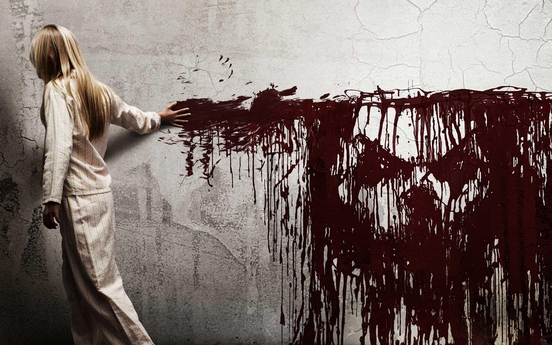 Blonde Blood Creepy Sinister Girl Children Females Dark Skull Horror Movies  Wallpaper At Dark Wallpapers