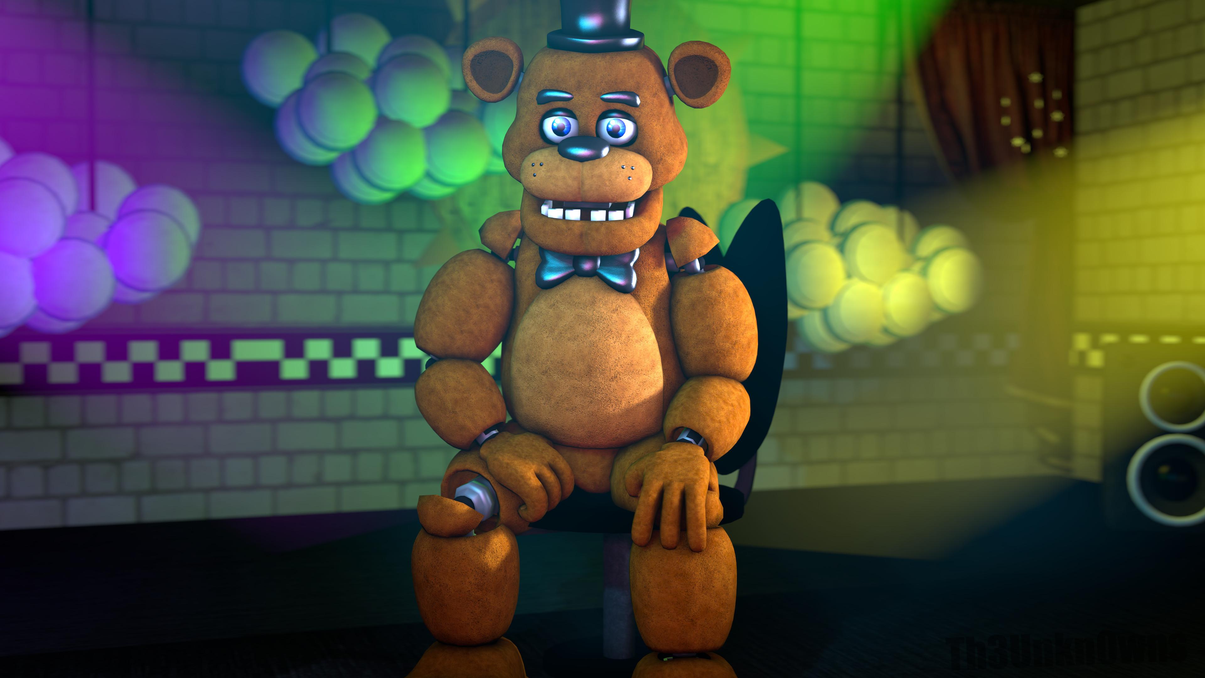 … Freddy Fazbear (WallPaper) (Filler) by Th3Unkn0wns