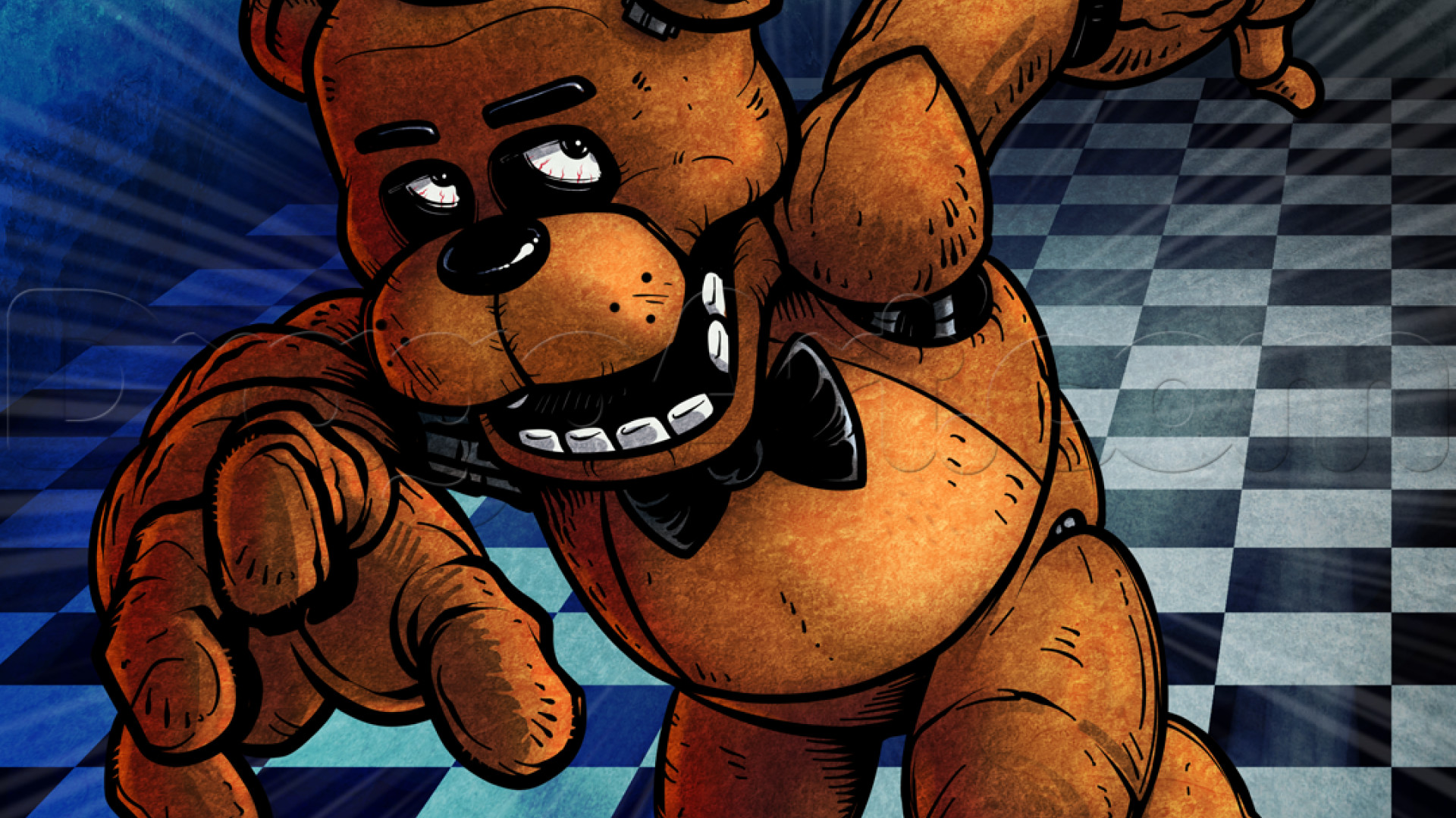 Five nights at video games animals stuffed animal freddy fazbear wallpaper  the best high quality free download.