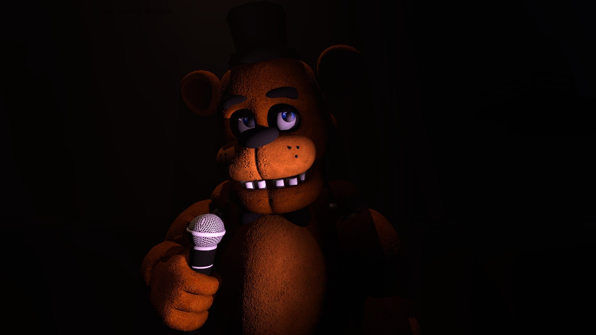 … Your main frie(*enemy*)nd, Freddy Fazbear by The-Spring