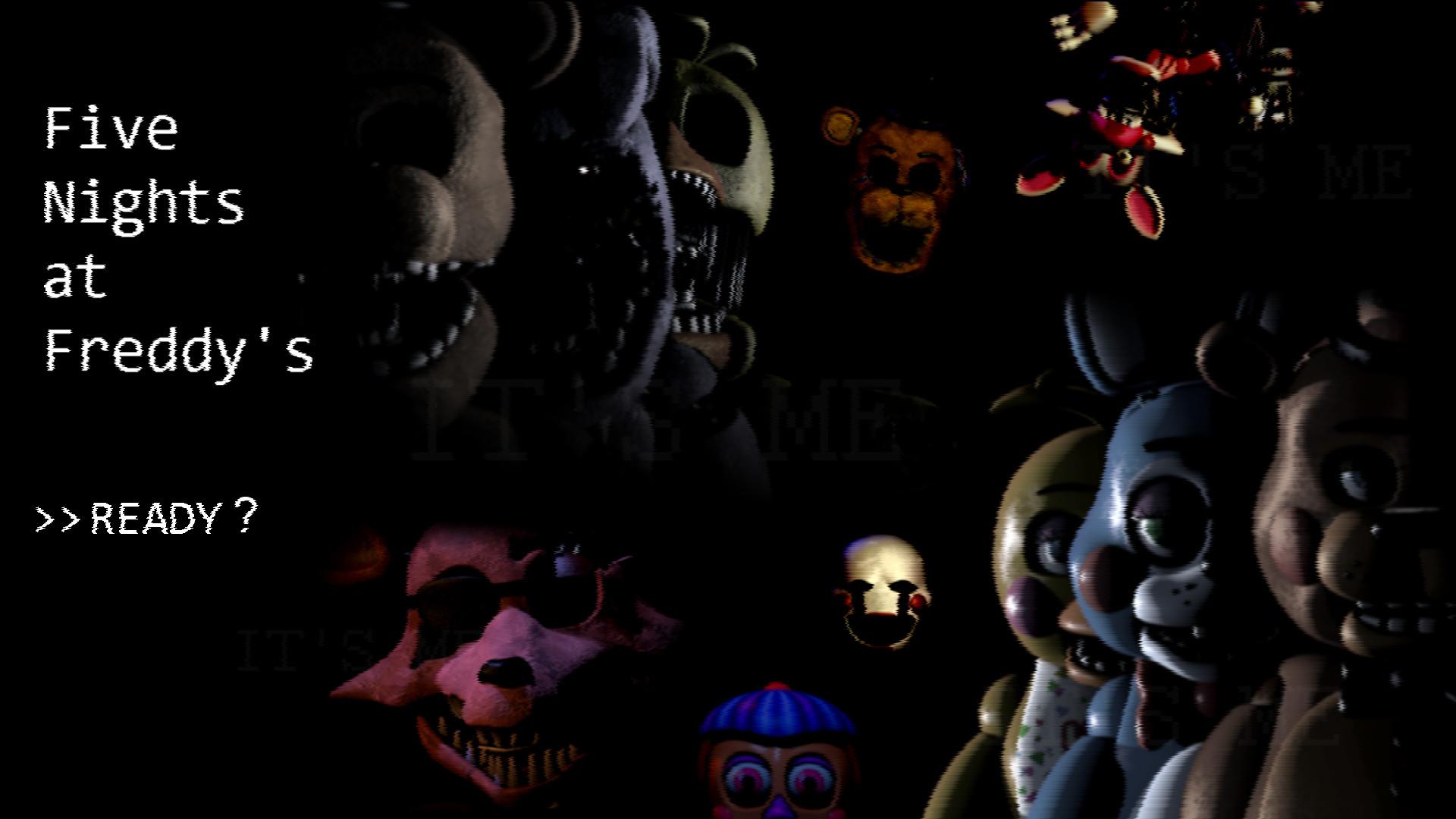 Five Nights At Freddy's Wallpaper! by ThatOnePyotr on DeviantArt