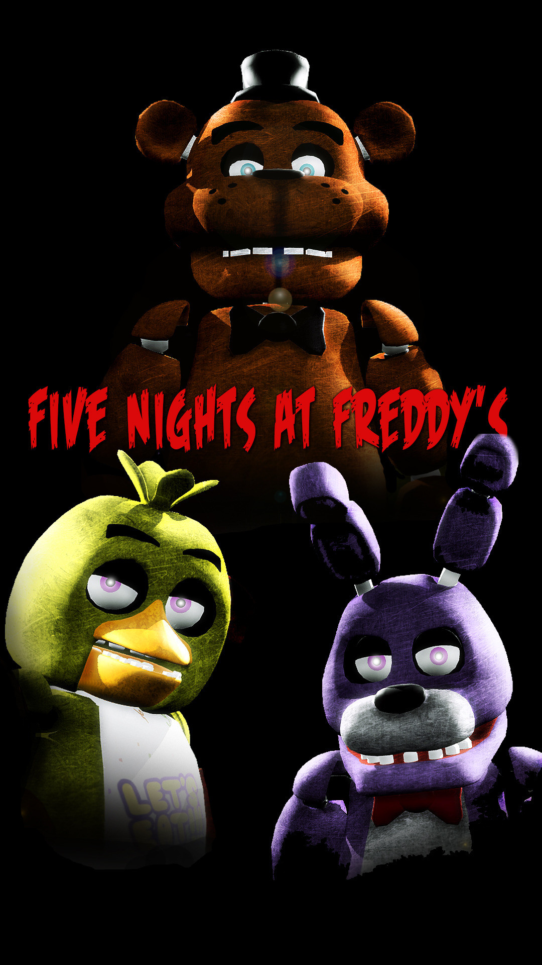 Five Nights at Freddy's Samsung Galaxy Note 3 wallpaper Resolution  [1080×1920] by: FioreRose