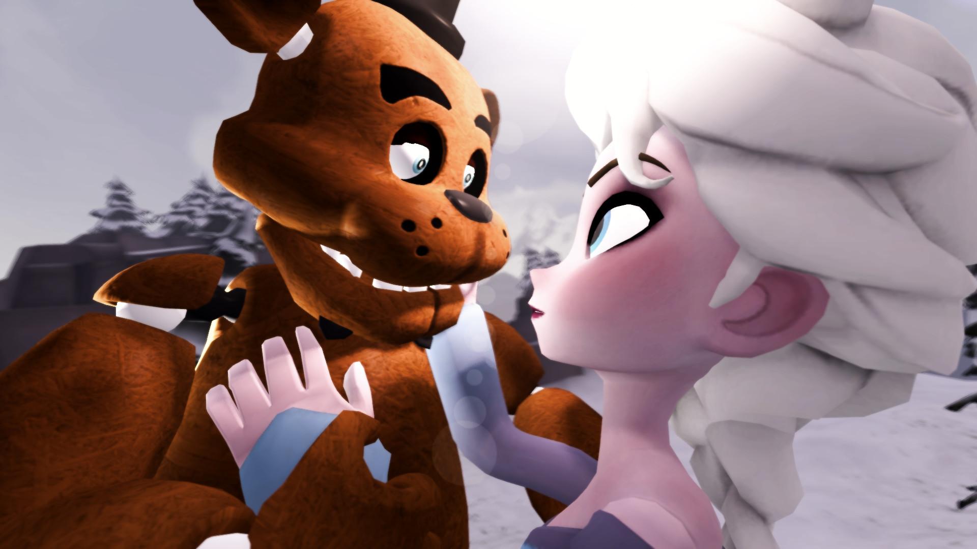 General Five Nights at Freddy's Freddy Fazbear crossover Frozen  (movie) Princess Elsa