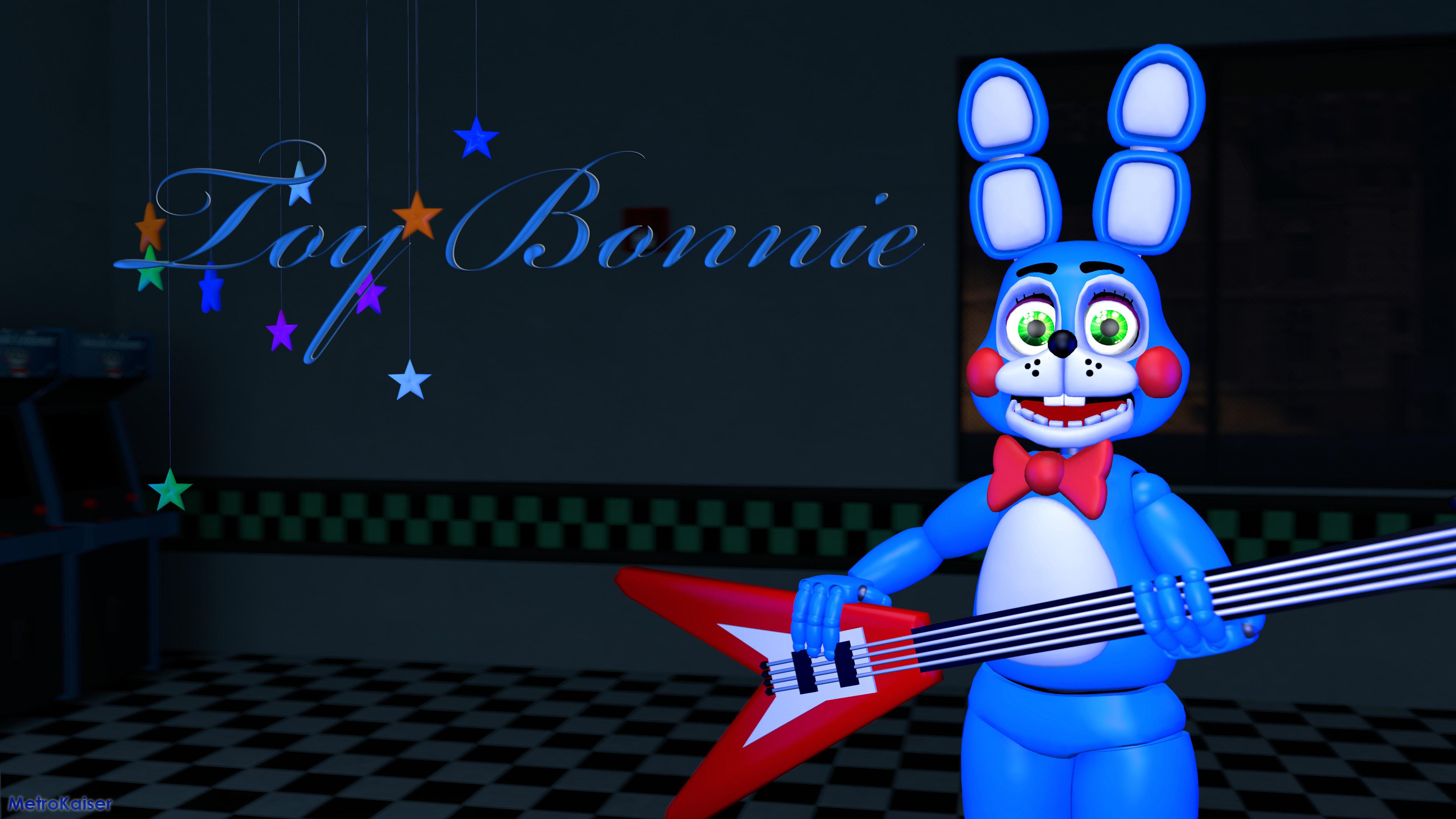 … FNAF] Toy Bonnie wallpaper (4K) by wstmetro