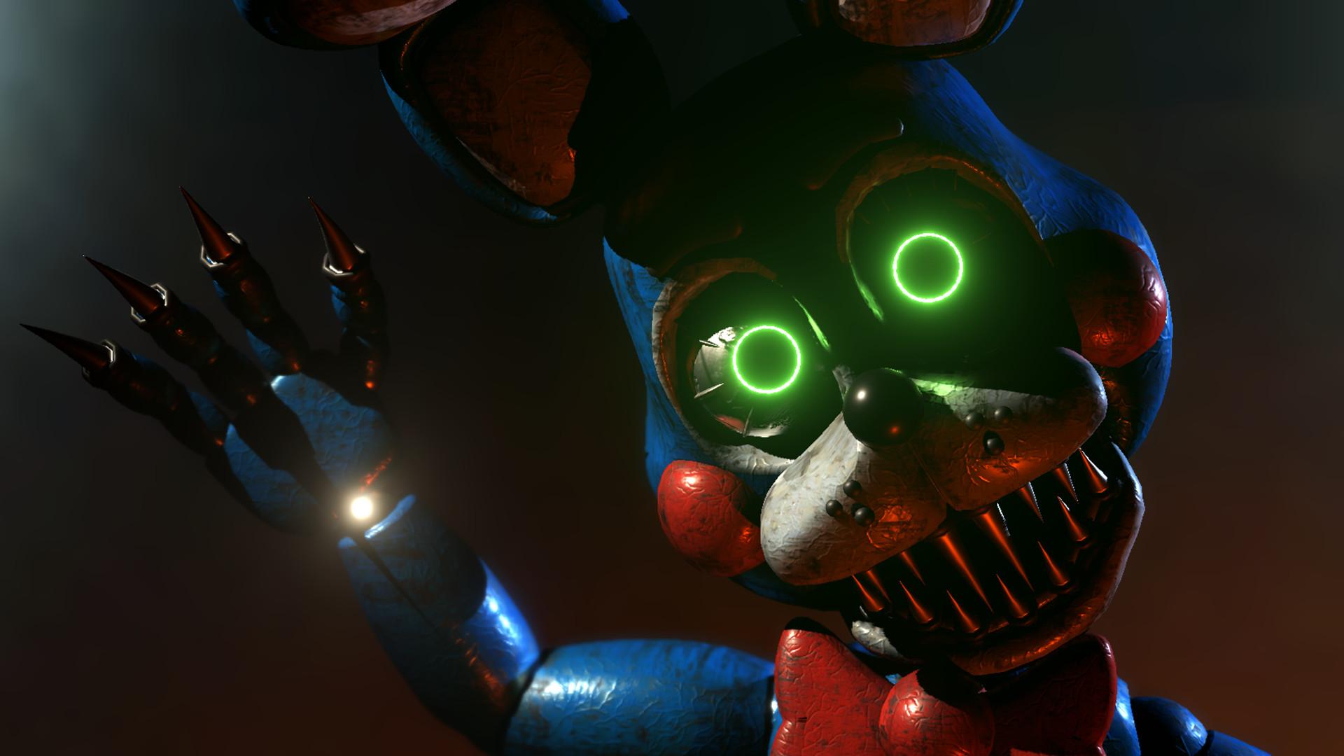 … Fnaf 2 Nightmare Toy Bonnie (Unity5 Render) by GTASUPERFAN1
