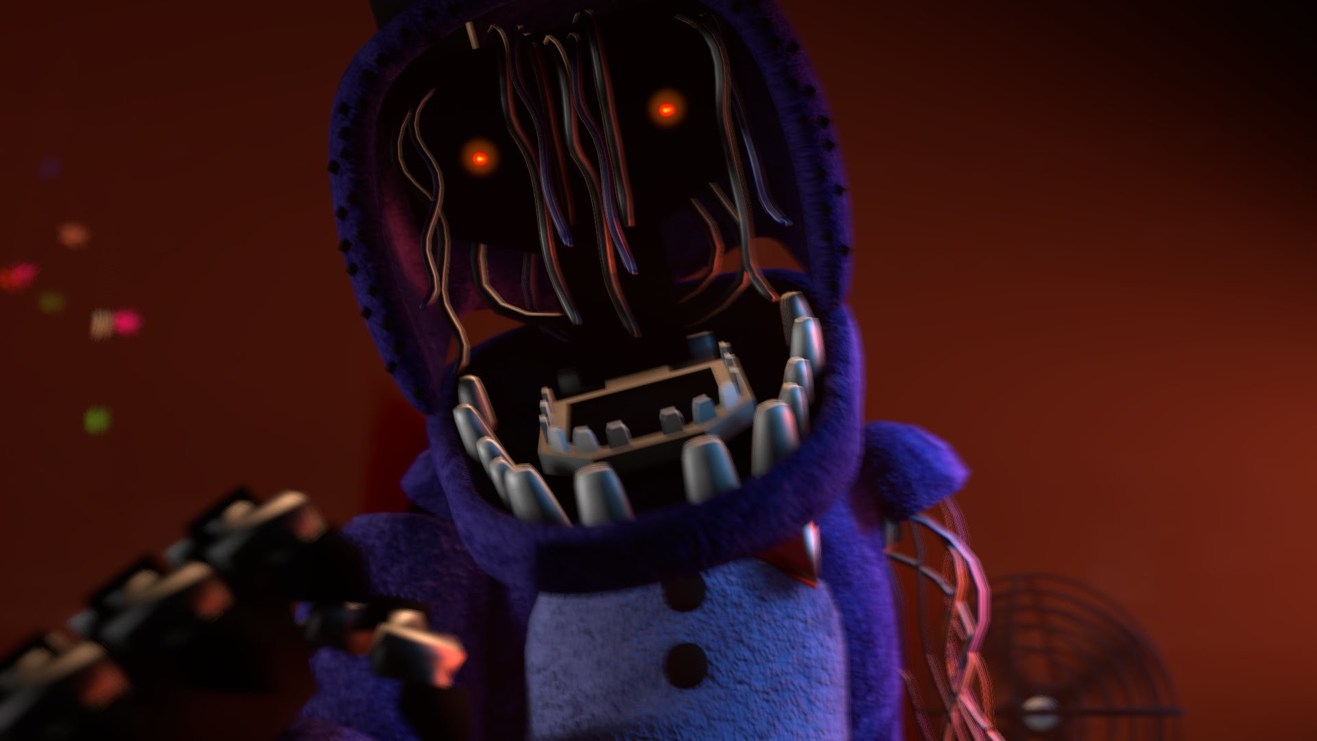 [FNAF SFM] Withered Bonnie Jumpscare (New Model) – YouTube