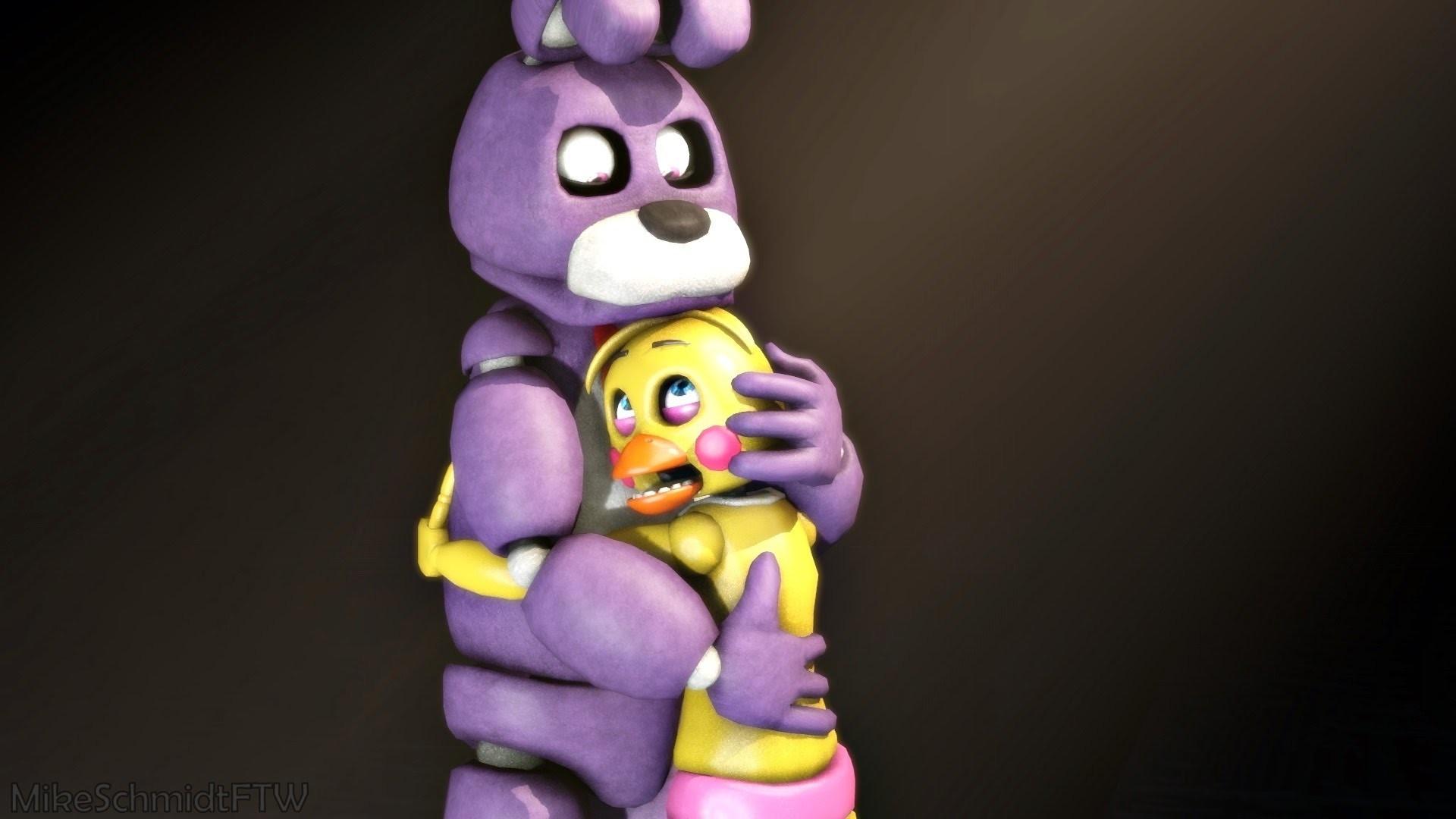 (SFM) (FNAF) Bonnie X Toy Chica – YouTube