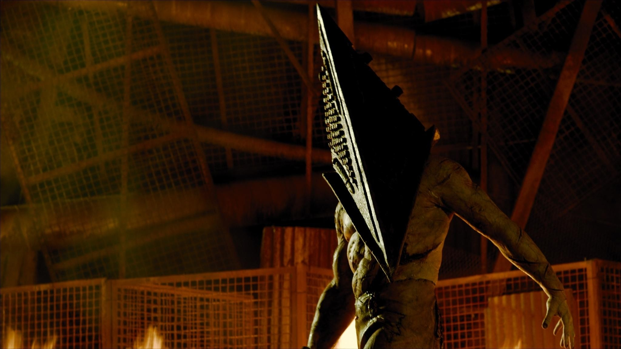 """Red Pyramid Thing wallpaper, Pyramid Head/Red Pyramid Thing after saving  Heather in """""""