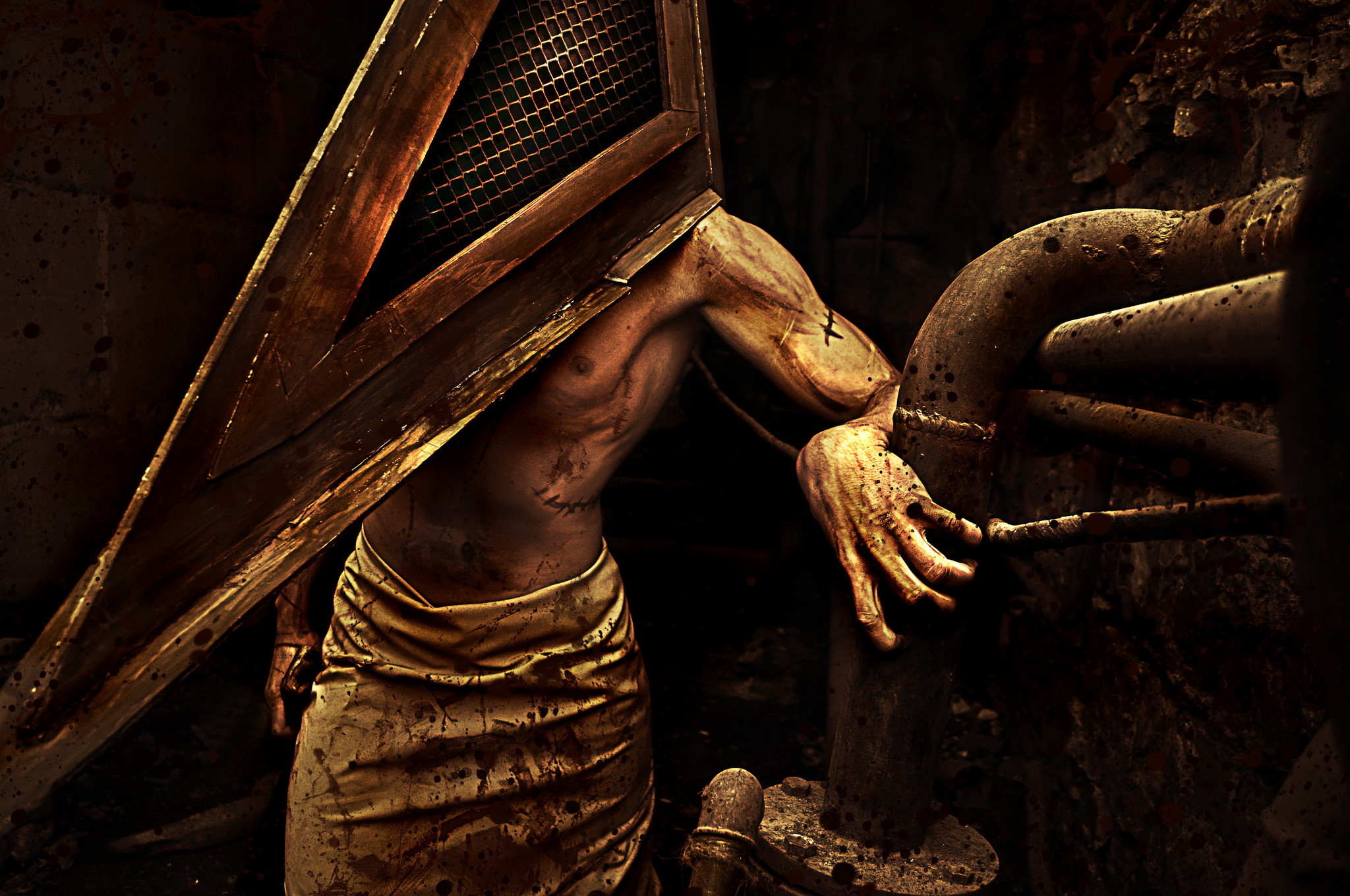 """… """"Silent Hill cosplay"""" by Dar'ya Polyanskaya (AnimA89). Cosplayer:  Vasilij Manaev. """""""