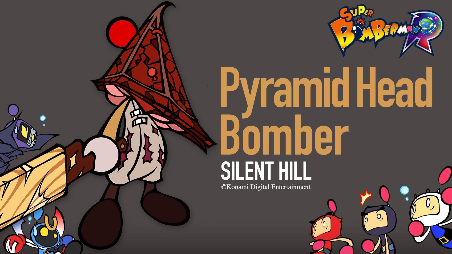 Super Bomberman R gets Silent Hill crossover