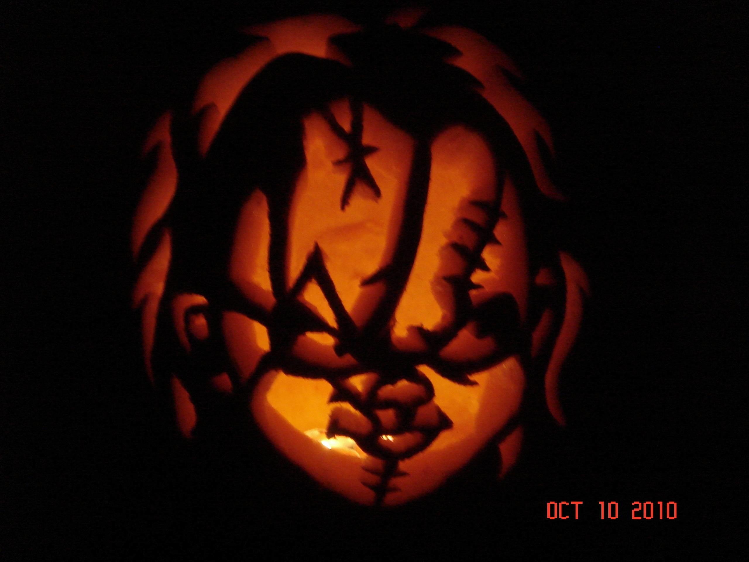 Stunning Chucky Pumpkin Wallpaper 2560x1920PX ~ Chucky Wallpaper .
