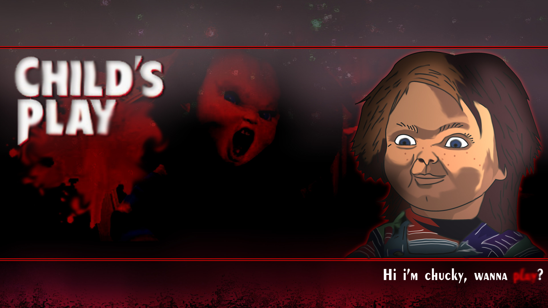 Childs Play Chucky Wallpaper by MikeDarko Childs Play Chucky Wallpaper by  MikeDarko