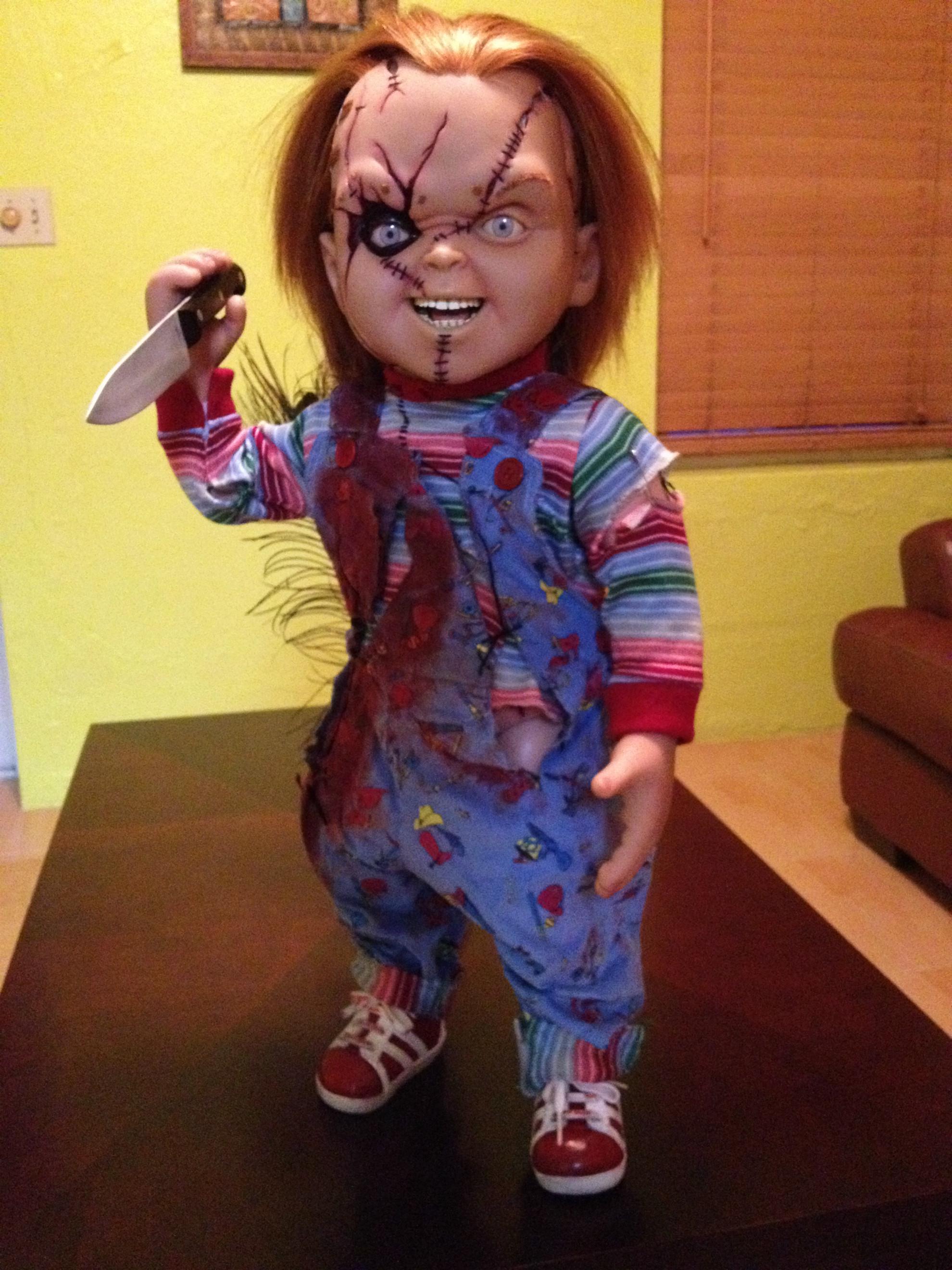 Life Size Chucky Doll by jayrbermuda Life Size Chucky Doll by jayrbermuda