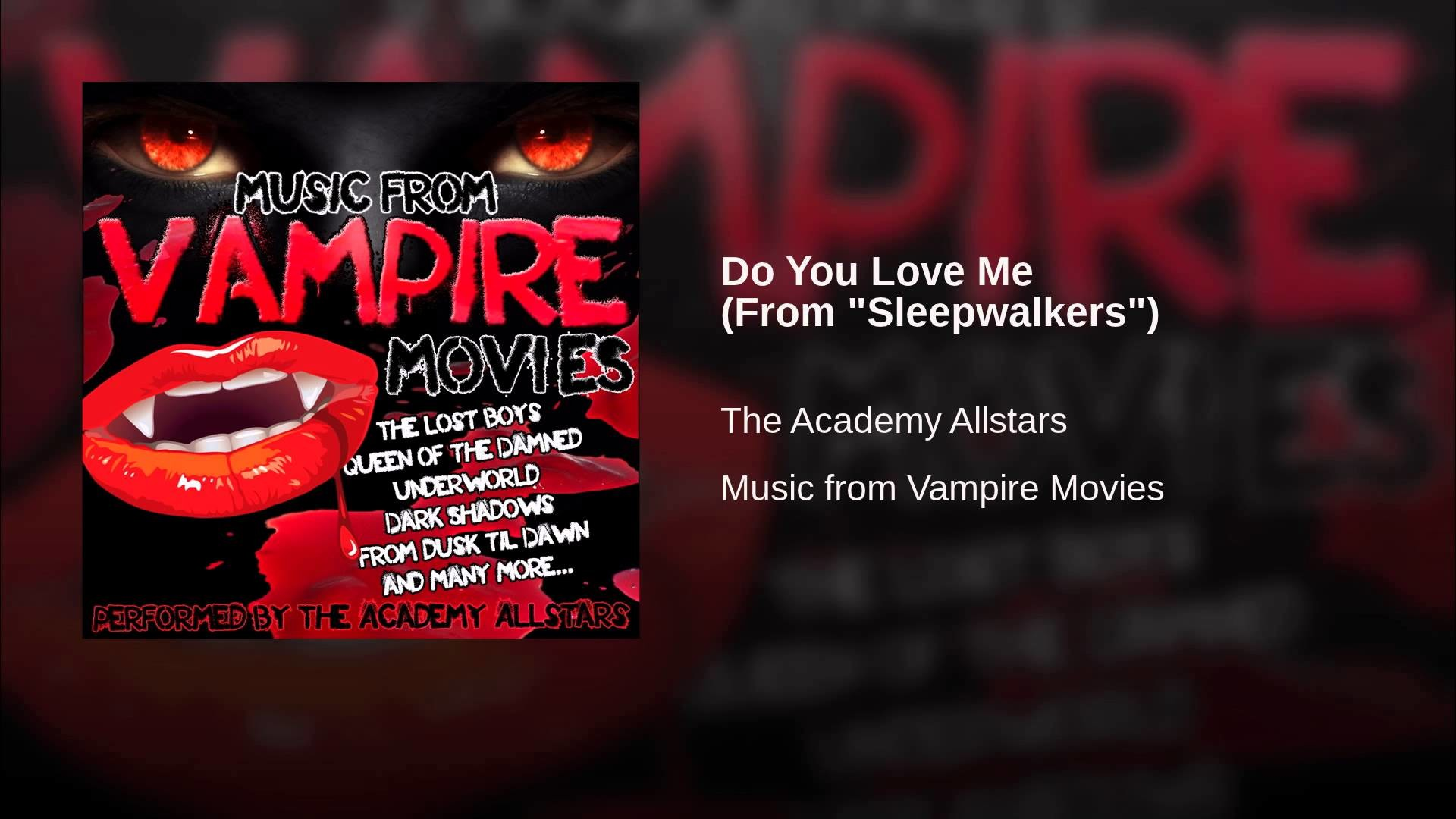 """Do You Love Me (From """"Sleepwalkers"""")"""