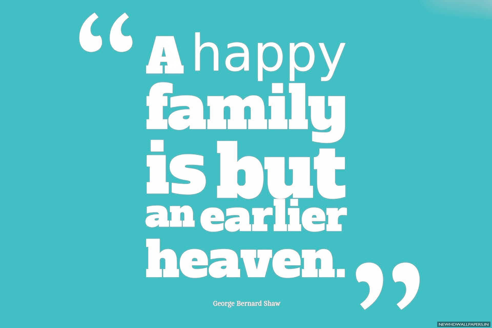 A happy family beautiful quote