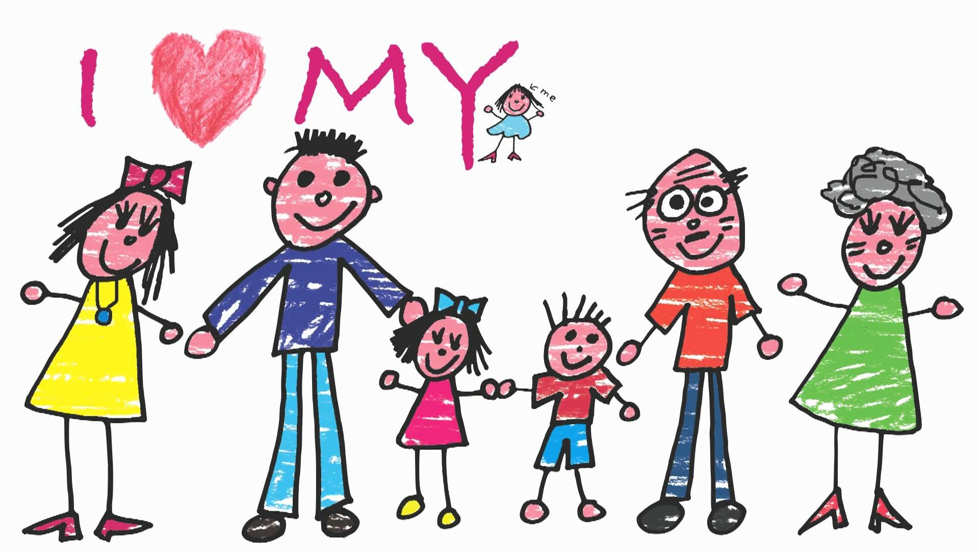 We Are Family Song – My Family and ME! Acoustic Version – ELF Kids Videos –  YouTube