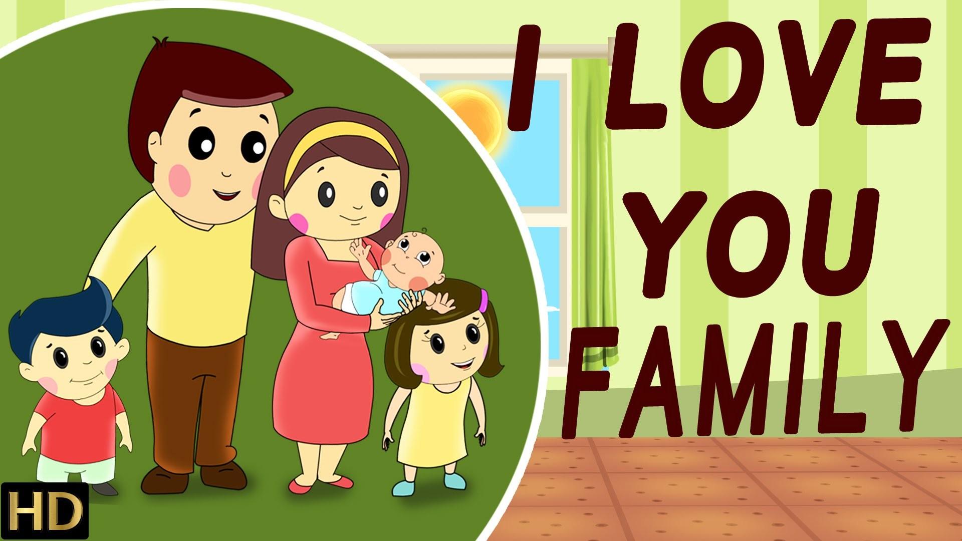 I Love You – Family (HD) – Nursery Rhymes | Popular Kids Songs | Shemaroo  Kids – YouTube