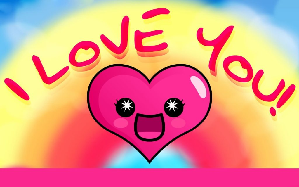Best Moment for Simple Animated Glitter Images I Love You and i love you  animated heart