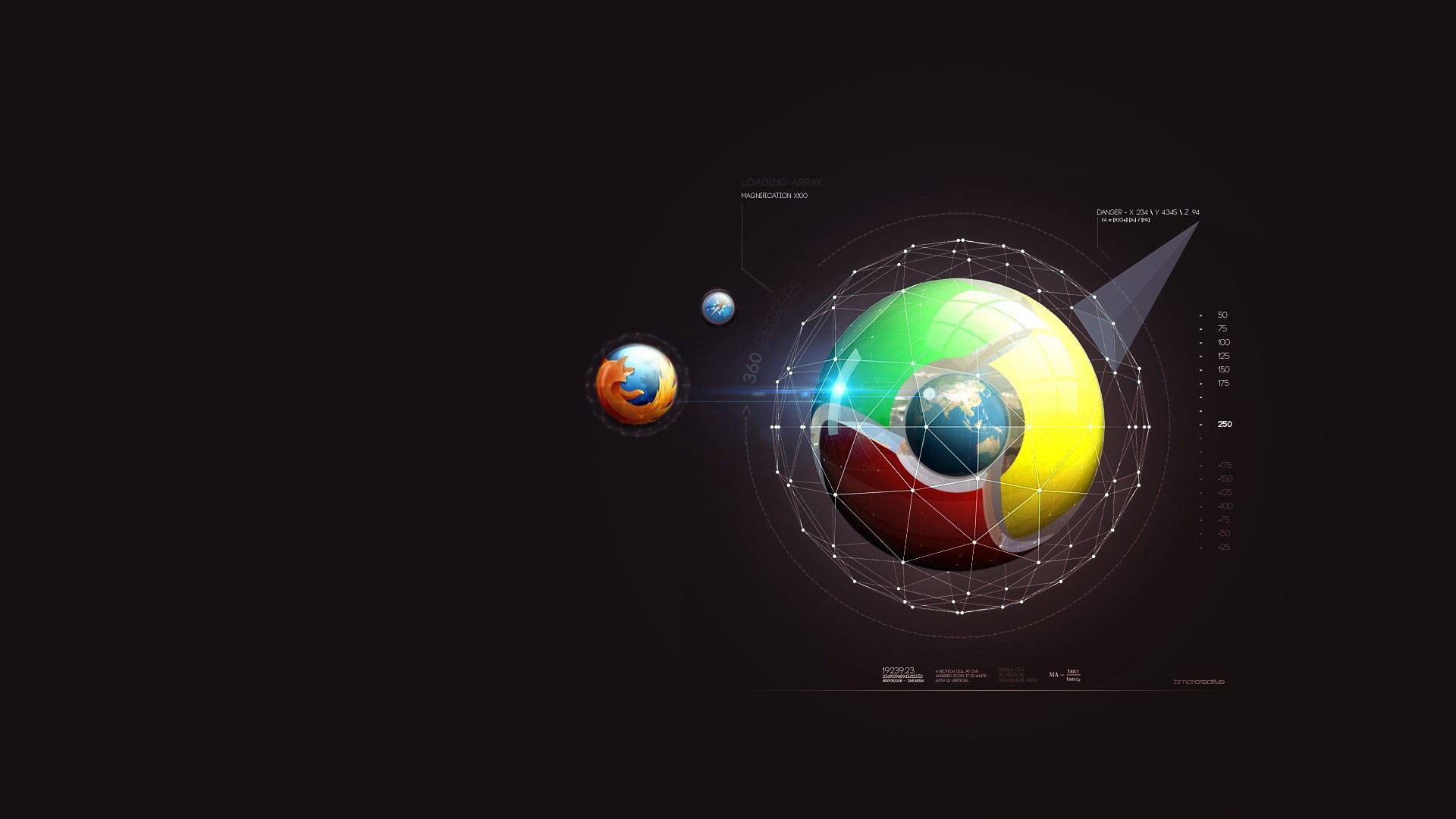 Social networks Firefox Google chrome wallpapers HD.