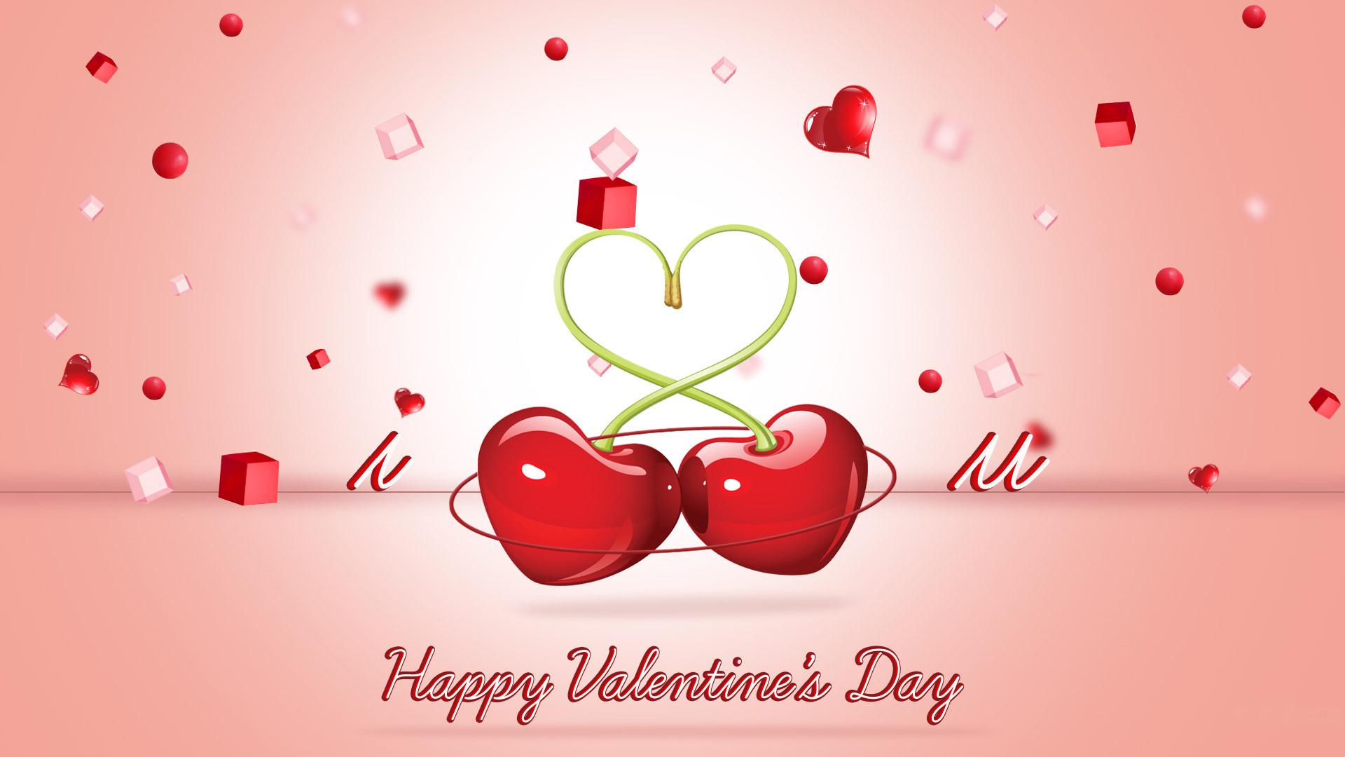 Happy Valentine's Day Desktop Wallpapers 1920×1080