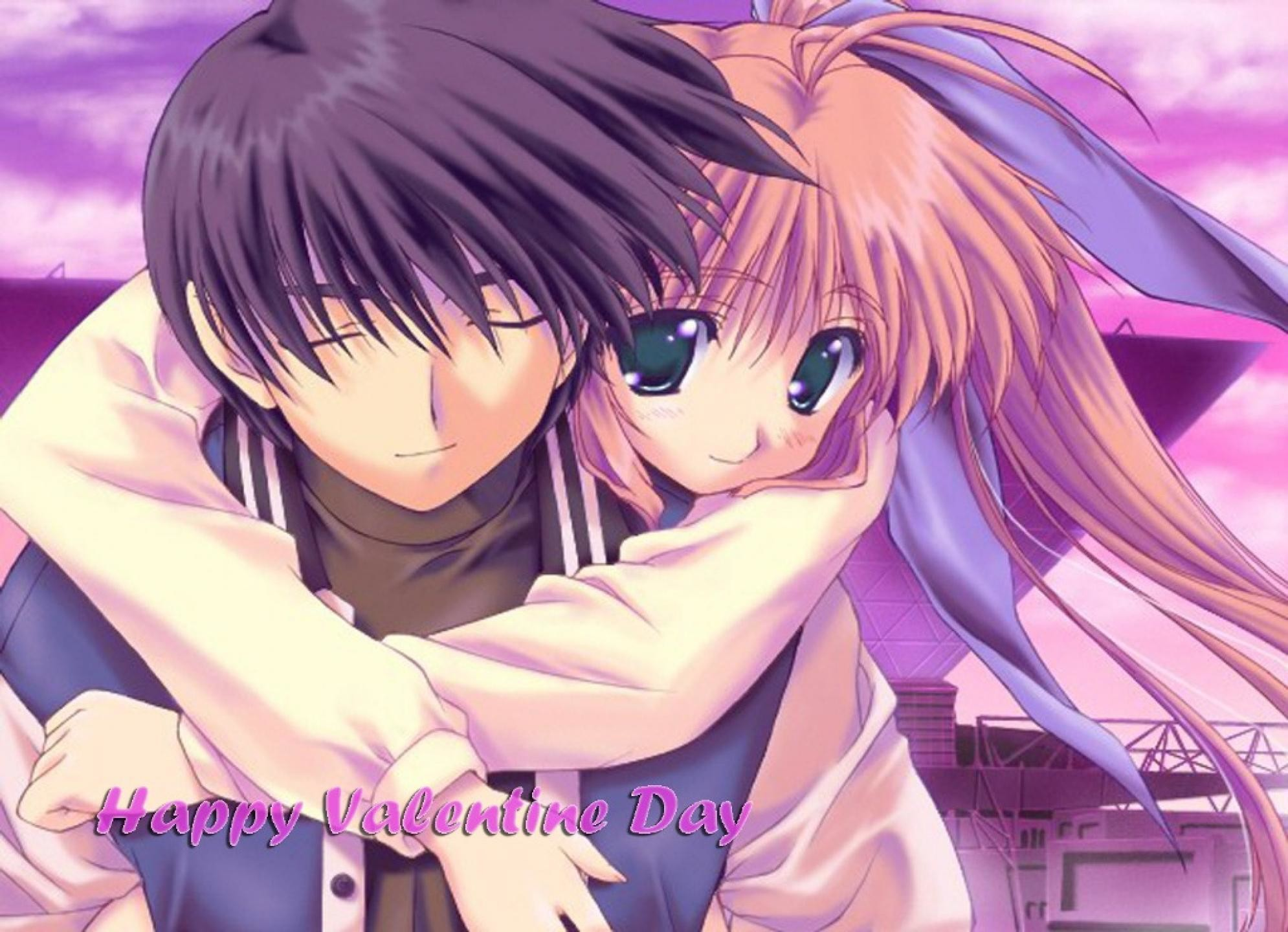 Anime Love Valentines Day HD Wallpaper #7823 #4046 Wallpaper | SpotIMG