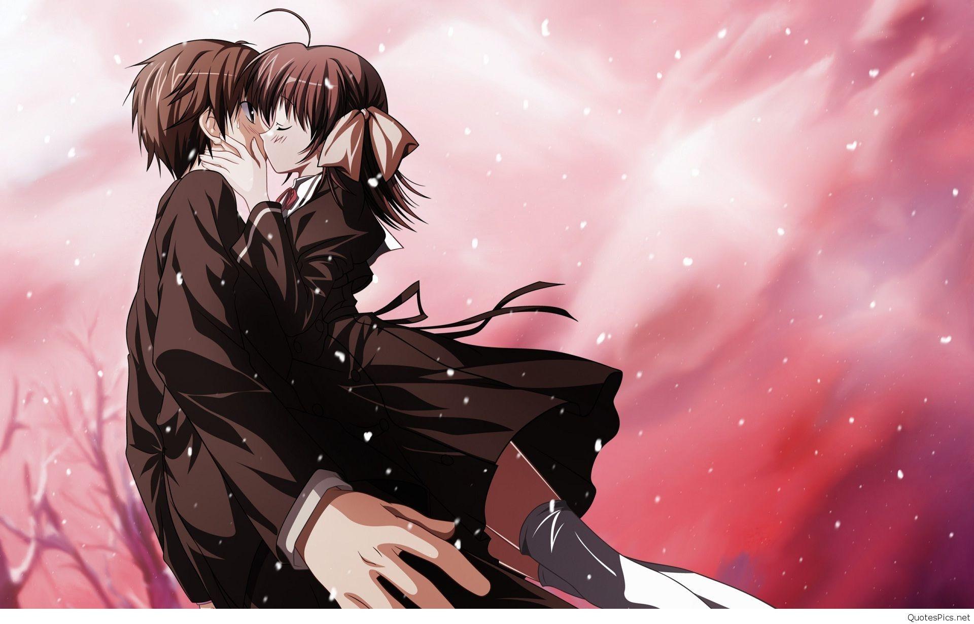 Animated-cartoon-couple-kissing-wallpaper