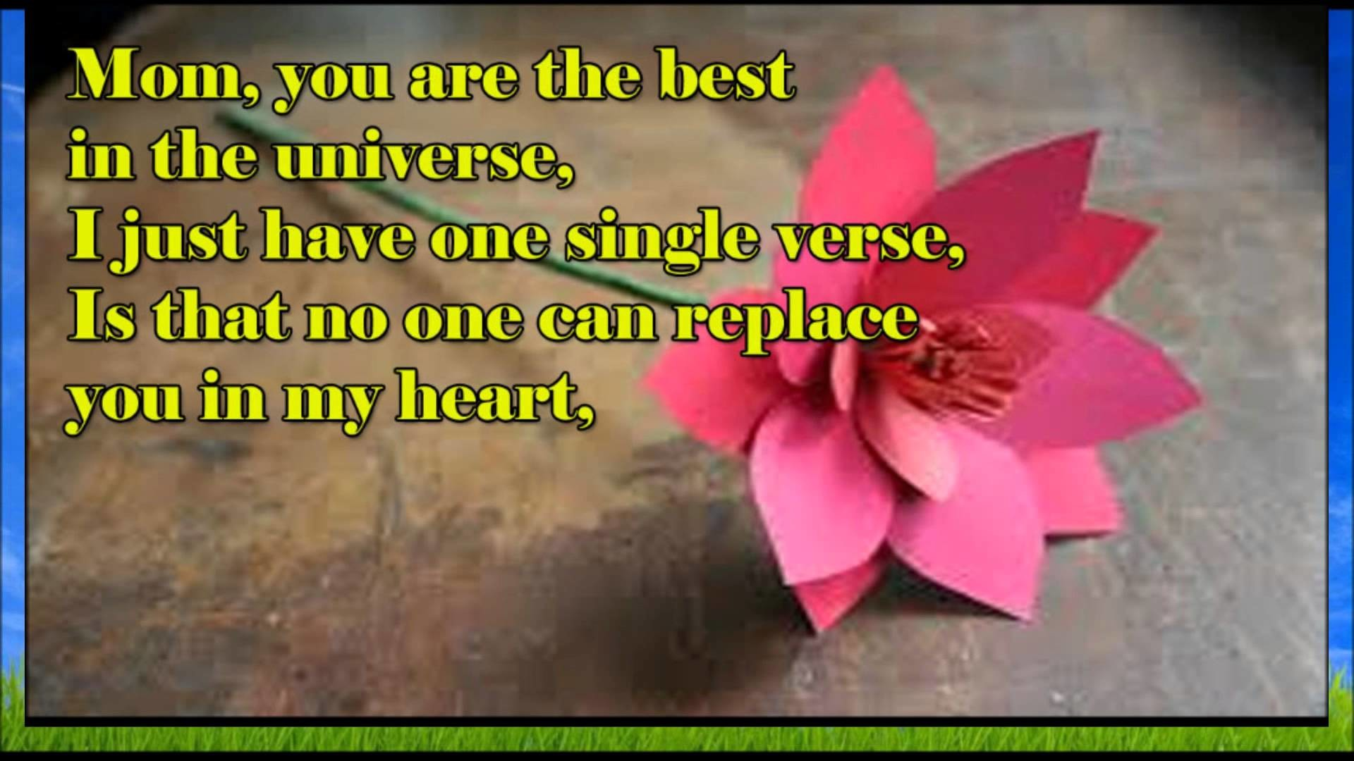 Happy birthday wishes, SMS, Quotes, message, E- greetings to Mother –  YouTube