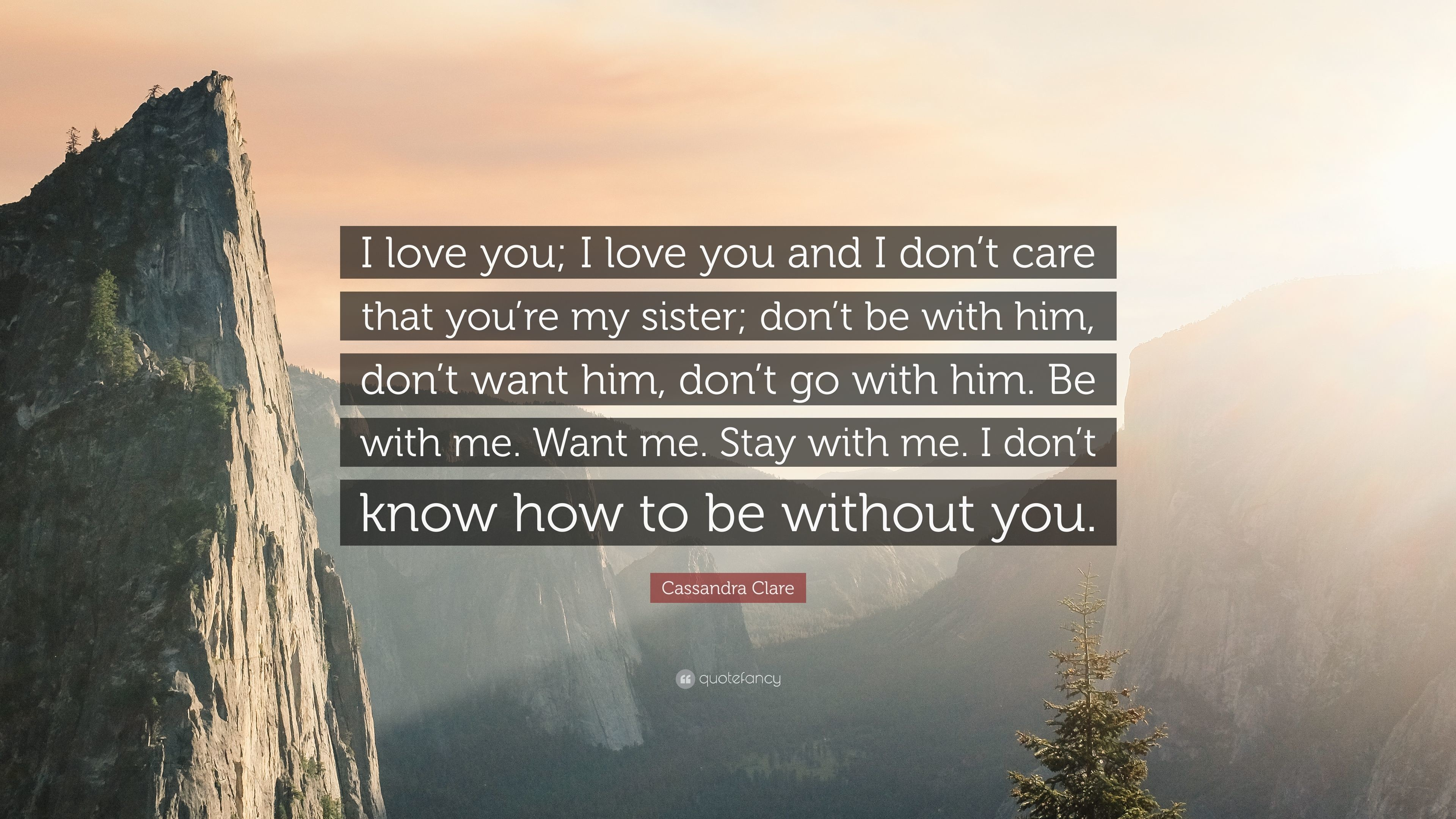 "Cassandra Clare Quote: ""I love you; I love you and I don'"