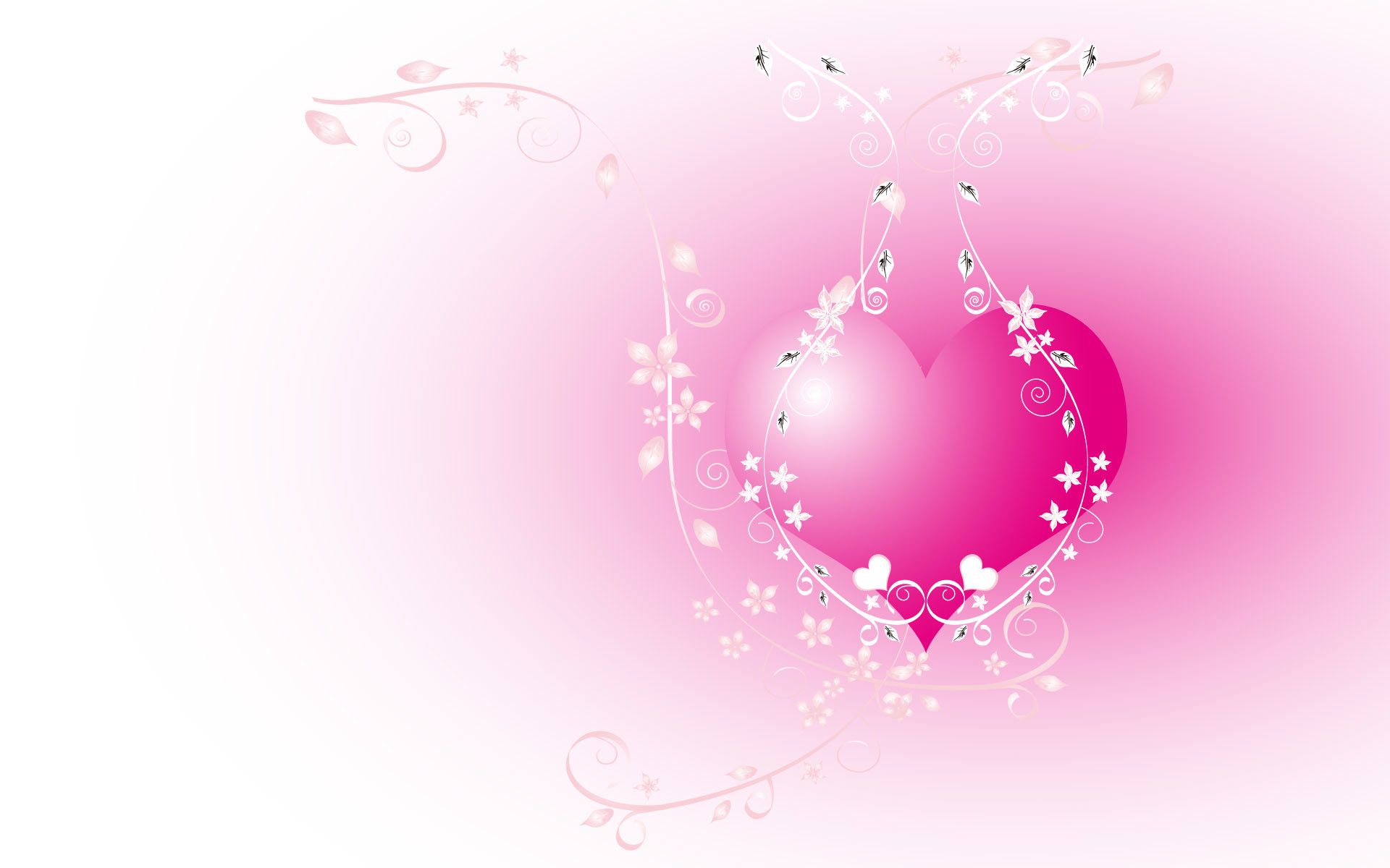 Download Hearts wallpaper, the pink heart image