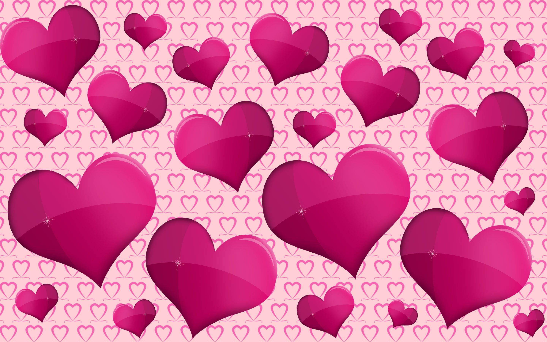 Download <b>Pink Heart Wallpapers</b>