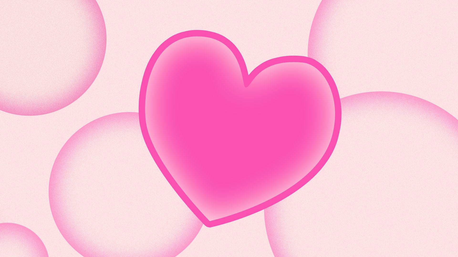 Pink Hearts Wallpaper Cute Photos Heart 23104wall.jpg