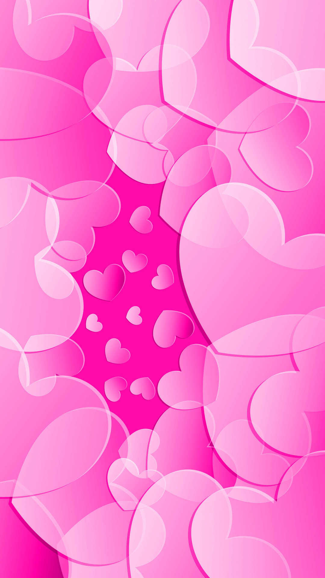 I'm really in a Pink mood this week. I'm Styling Pink Wallpapers for both  Home and Lock Screens today. They are both full of hearts, is love in the  air?