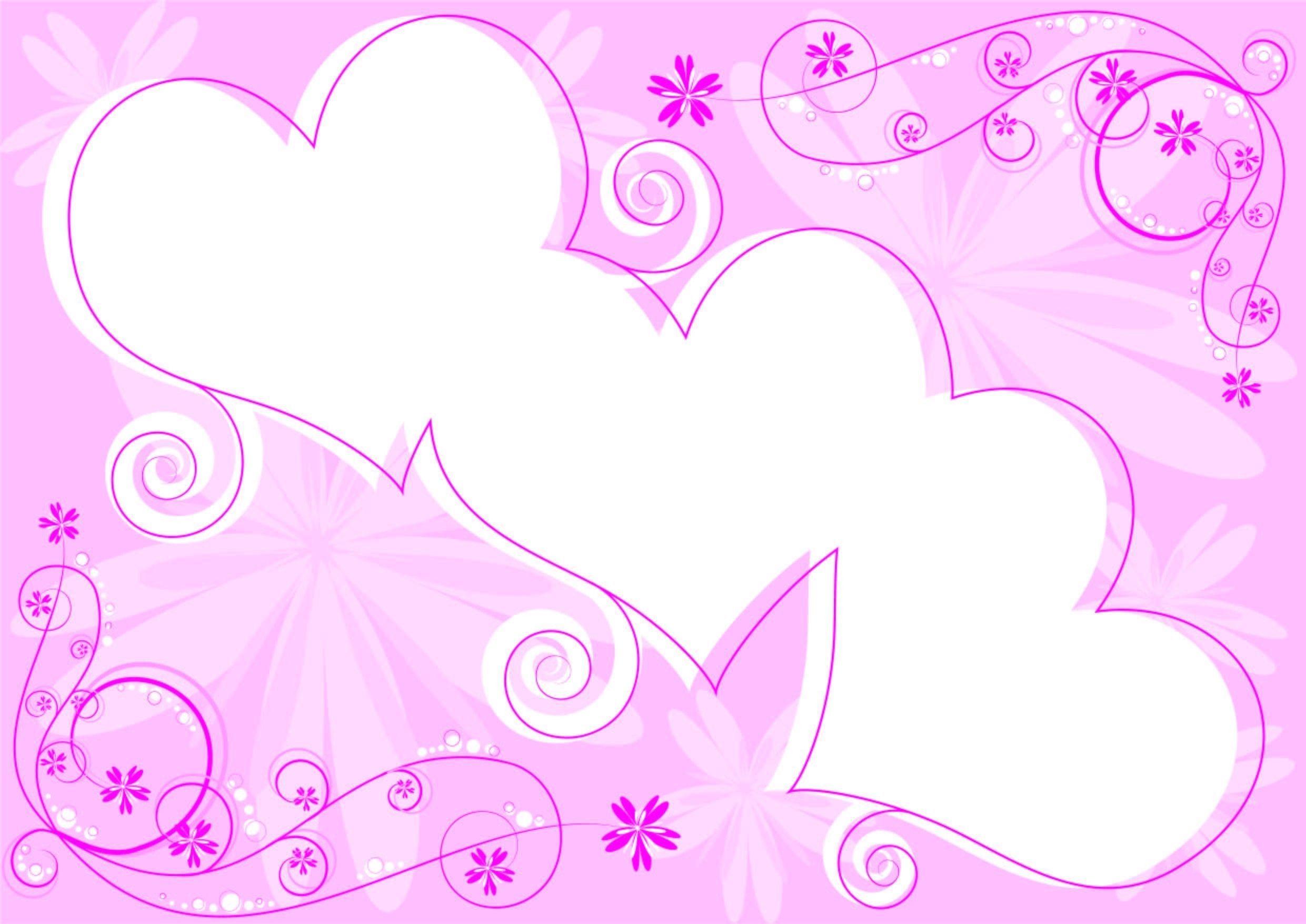 Wallpaper Love Pink