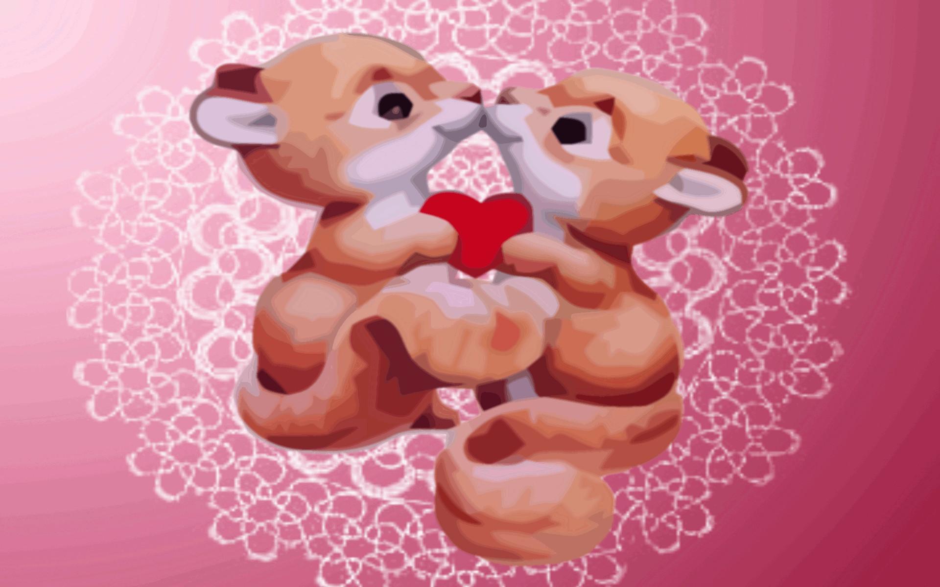 hoppy valentine wallpaper