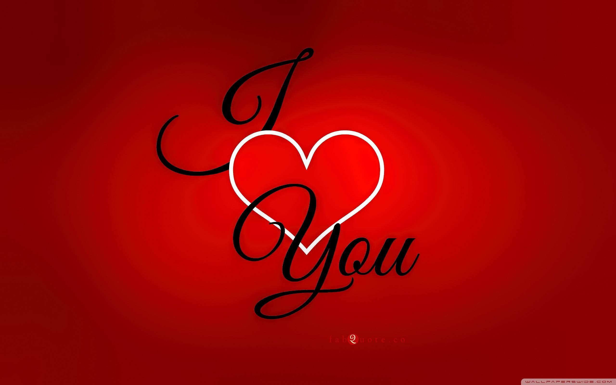 Valentines Day I love you Card HD desktop wallpaper : High Definition :  Fullscreen : Mobile